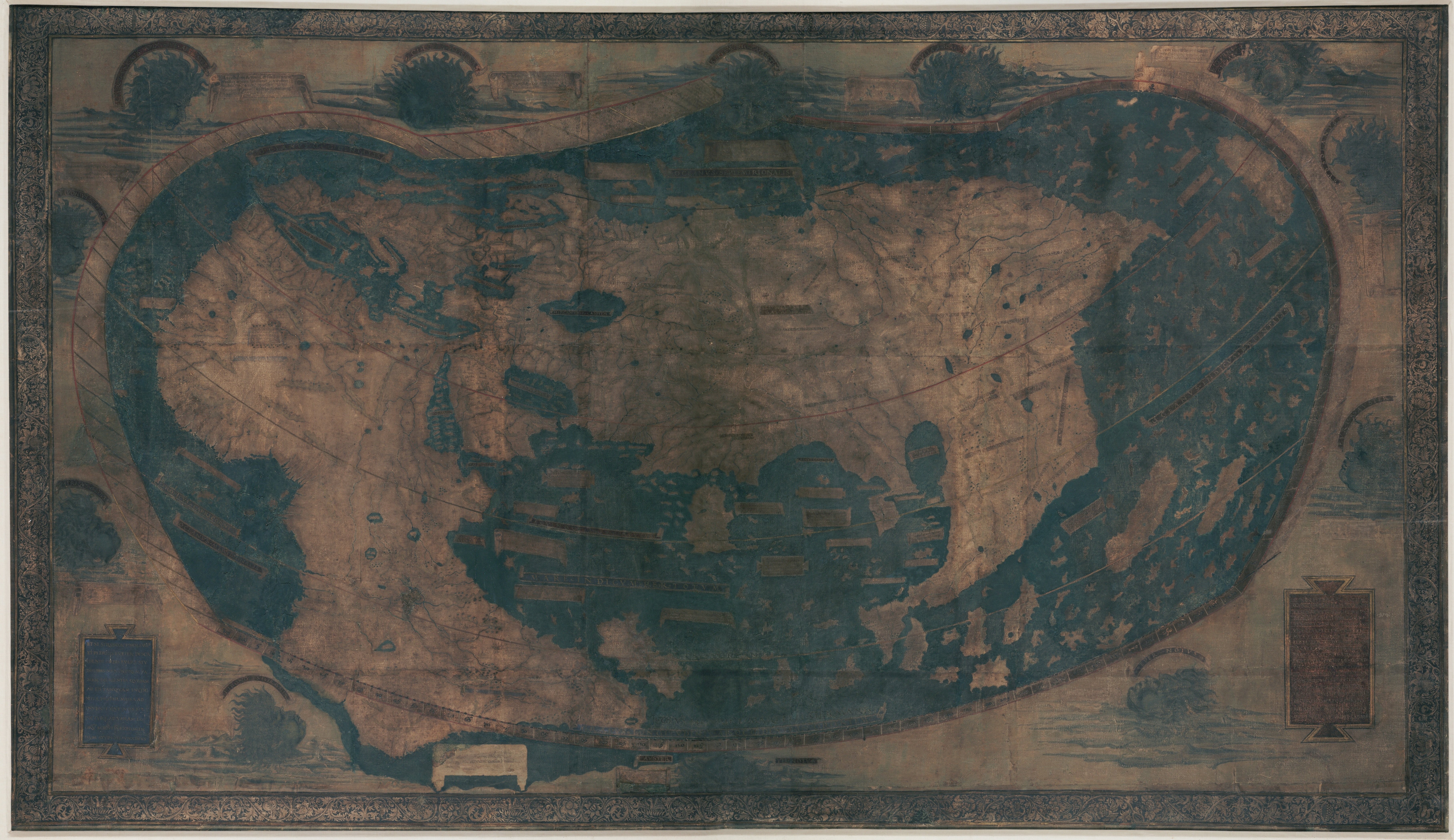 Henricus Martellus - Map of the world - 1489 - Yale archive.jpg