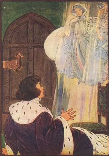 Illustration from The Little Lame Prince and His Travelling Cloak by Dinah Maria Mulock illustrated by Hope Dunlap 1909 25
