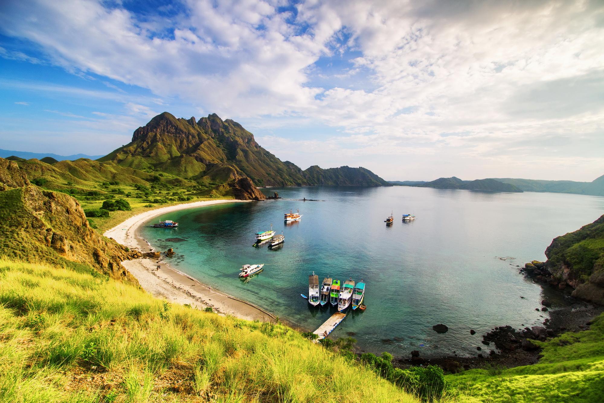 NTT, Nusa Tenggara Timur, Pulau Padar, Komodo, Komodo Dragon, TN Komodo,