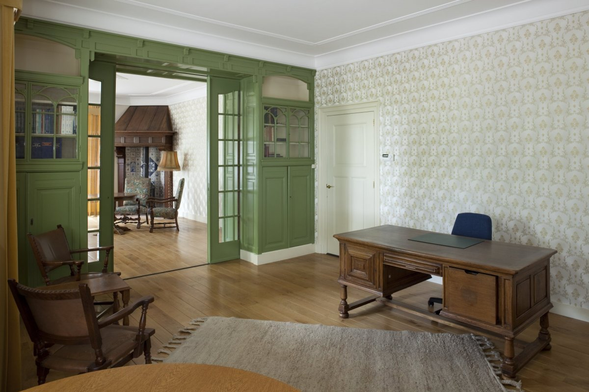 File interieur kamer rechts voor zicht naar kamer links for Kamer interieur