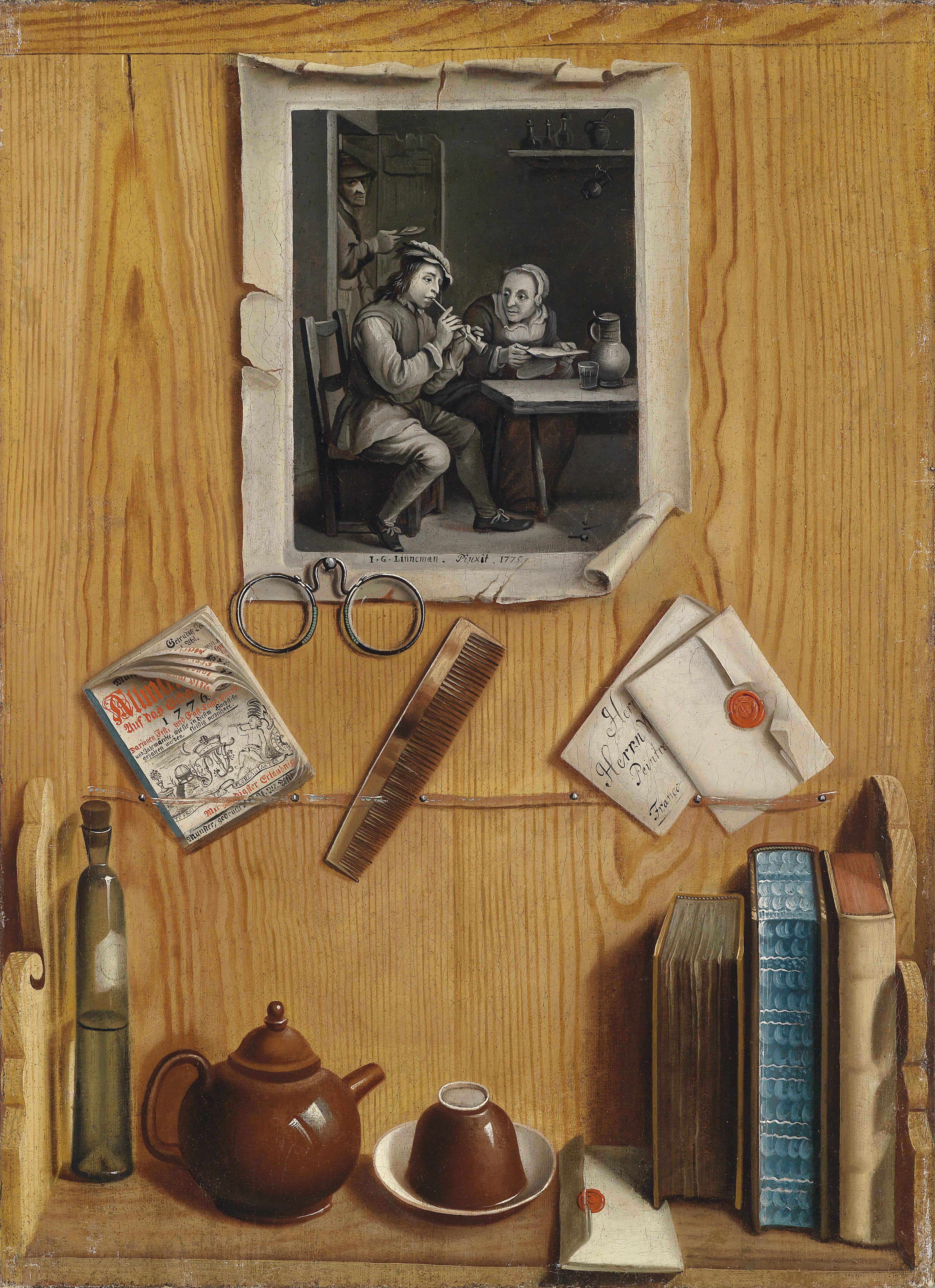 file j g linneman trompe l 39 oeil wikimedia commons. Black Bedroom Furniture Sets. Home Design Ideas