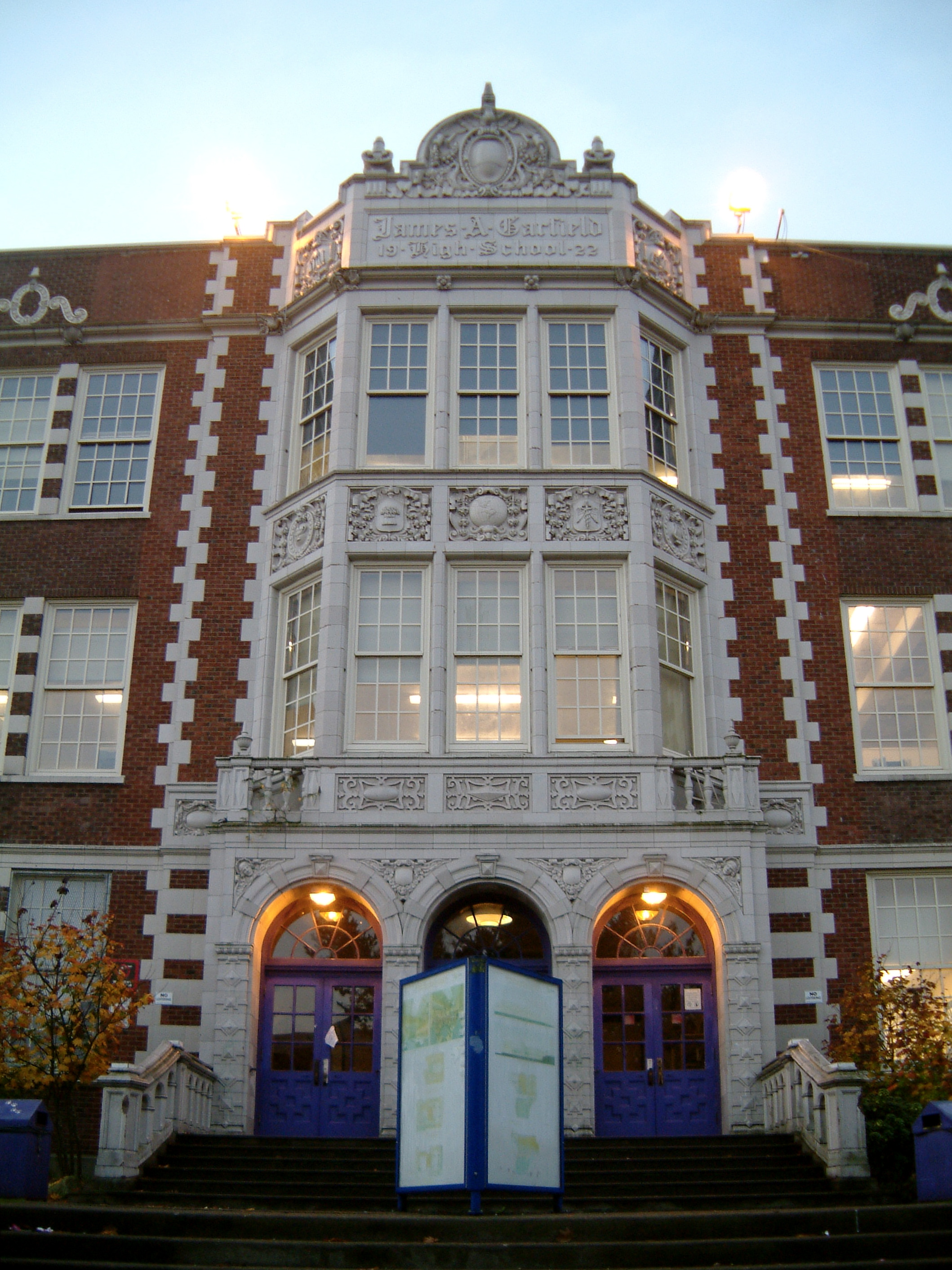 Garfield High School Seattle Wikipedia
