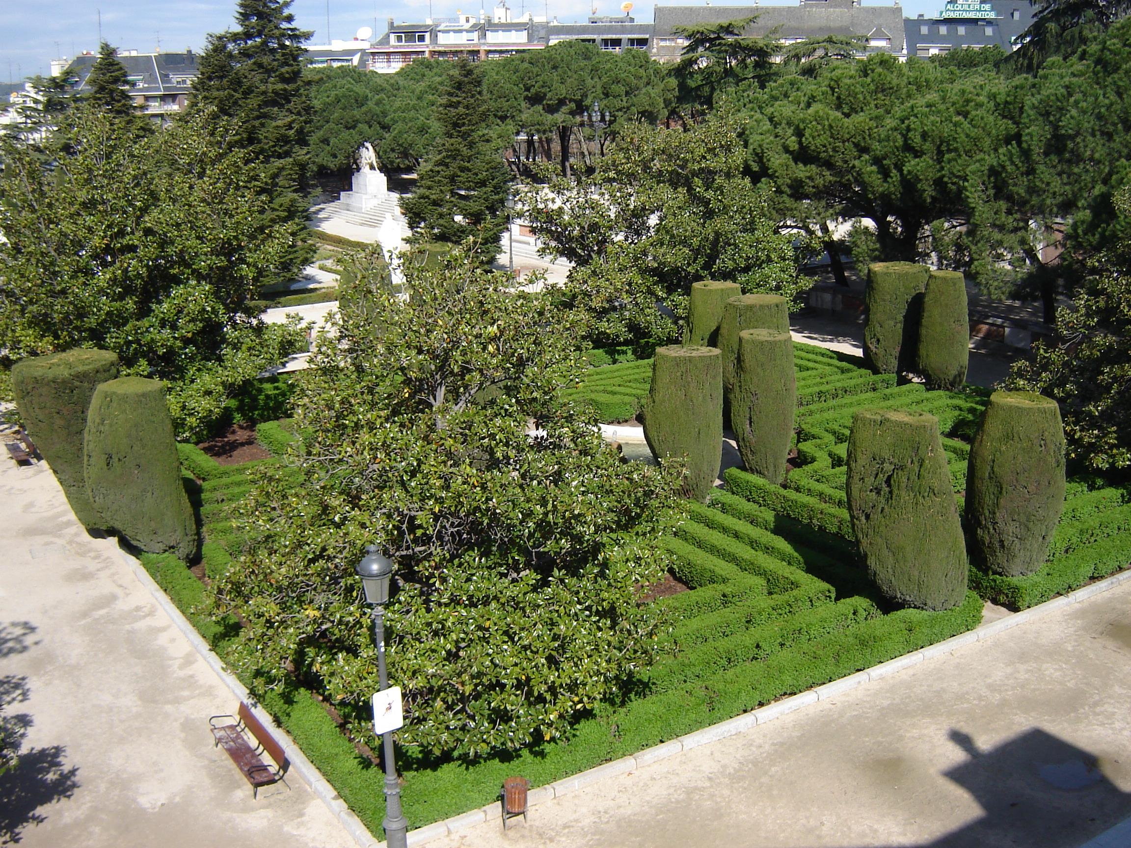 file jardines de sabatini madrid