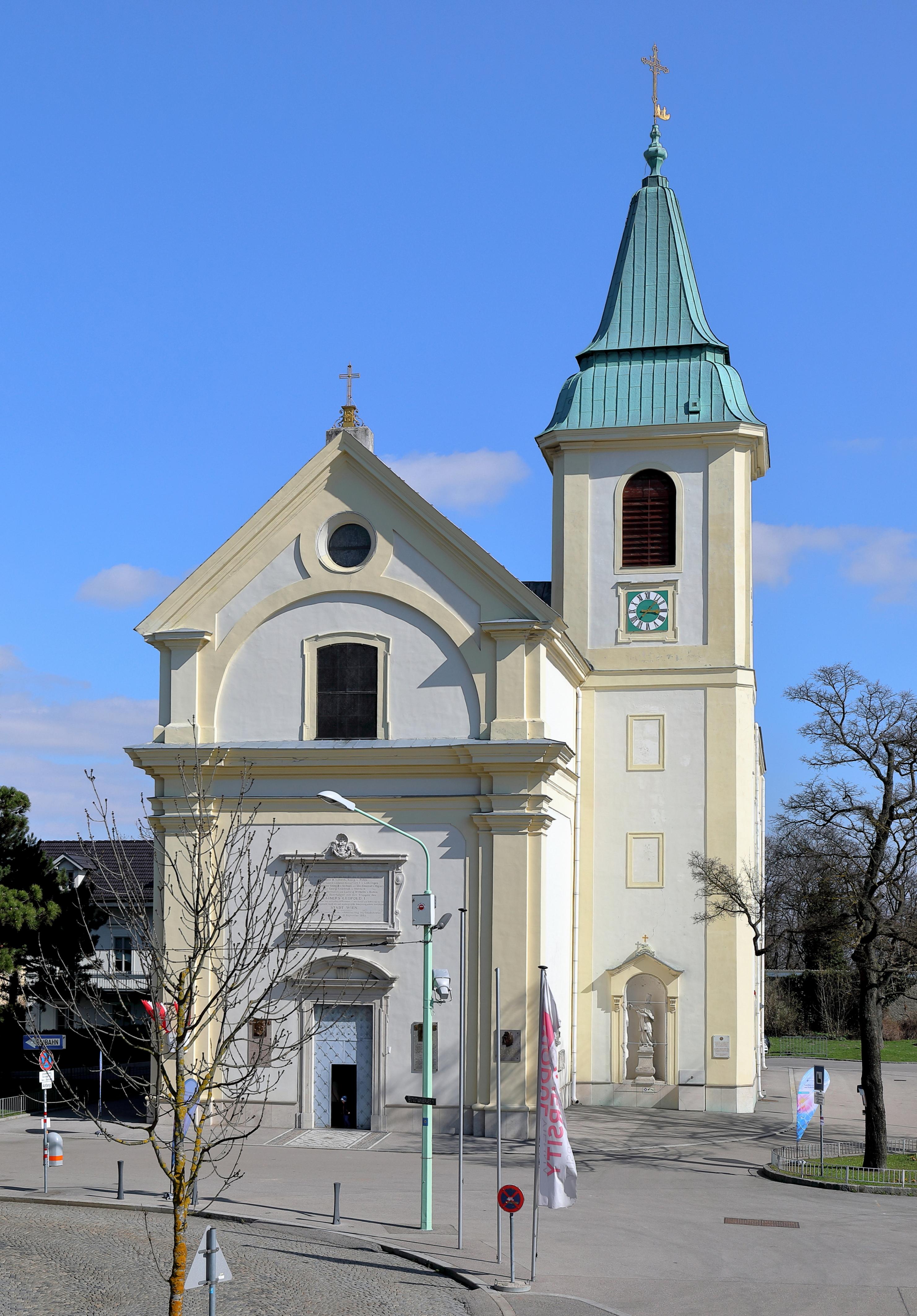 Filekahlenberg Wien Kirche 1jpg Wikimedia Commons