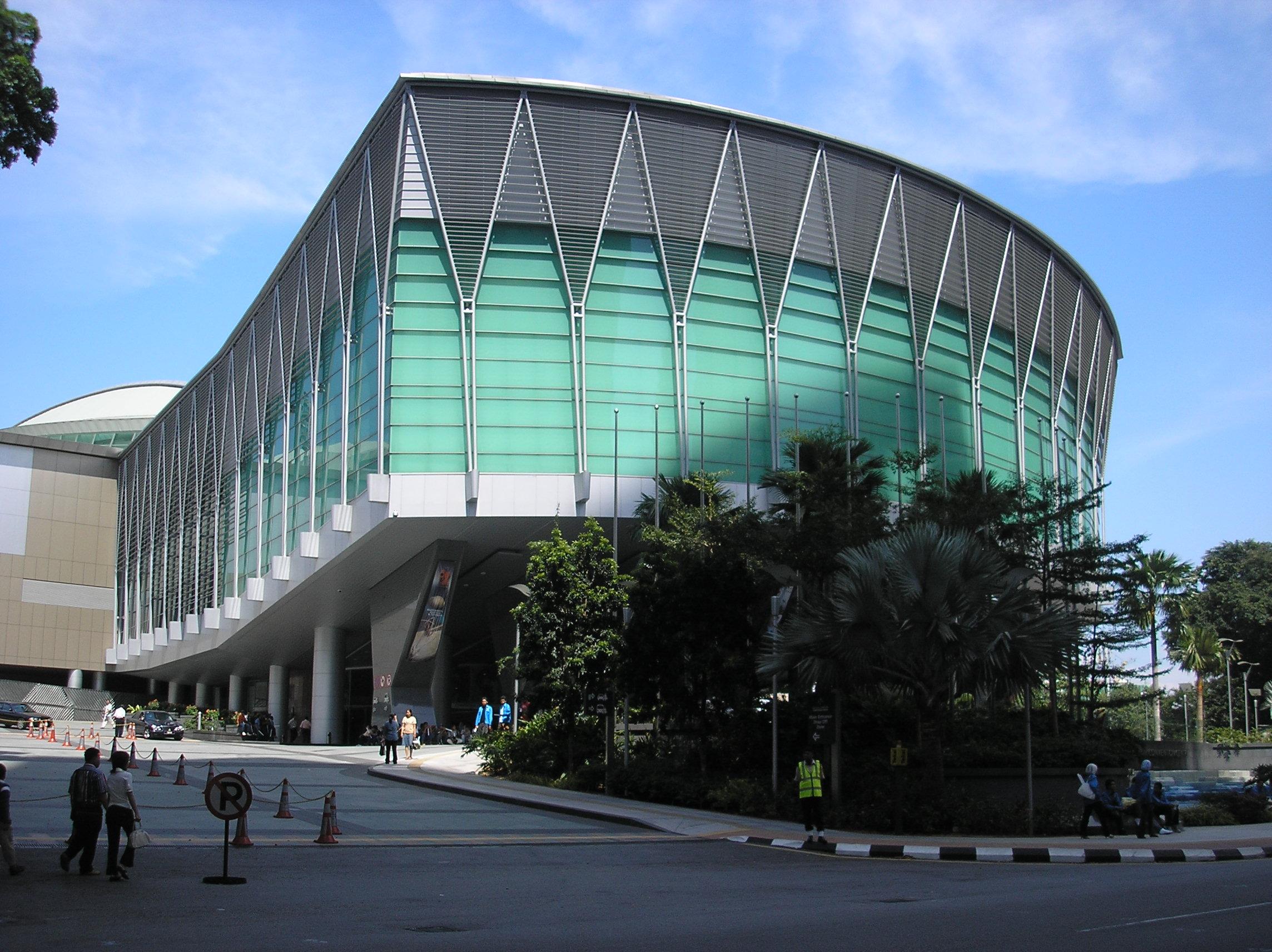 File Kuala Lumpur Convention Centre Street Entrance Kuala Lumpur Jpg Wikimedia Commons