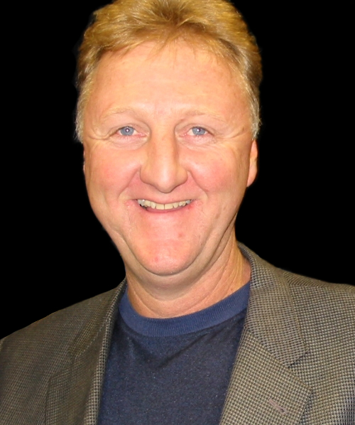 Larry Bird - via Wikipedia (Kurt Shimala)