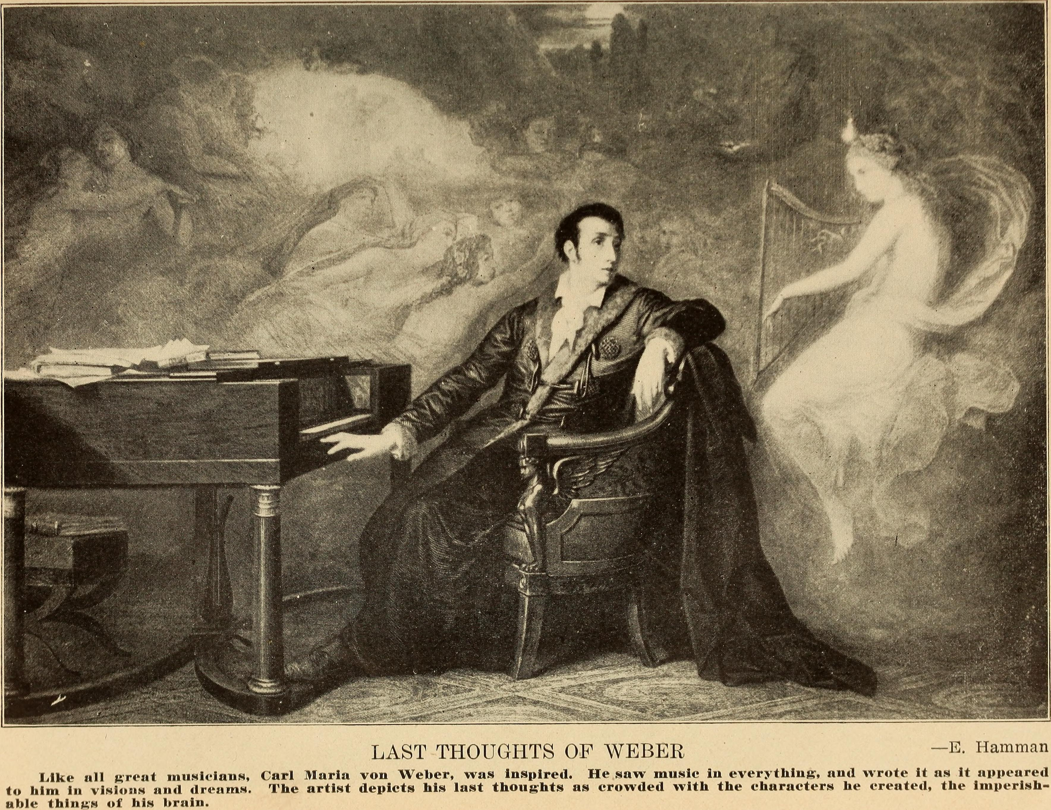the life and career of carl maria von weber Learn about carl maria von weber: his birthday, what he did before fame, his family life, fun trivia facts, popularity rankings, and more.