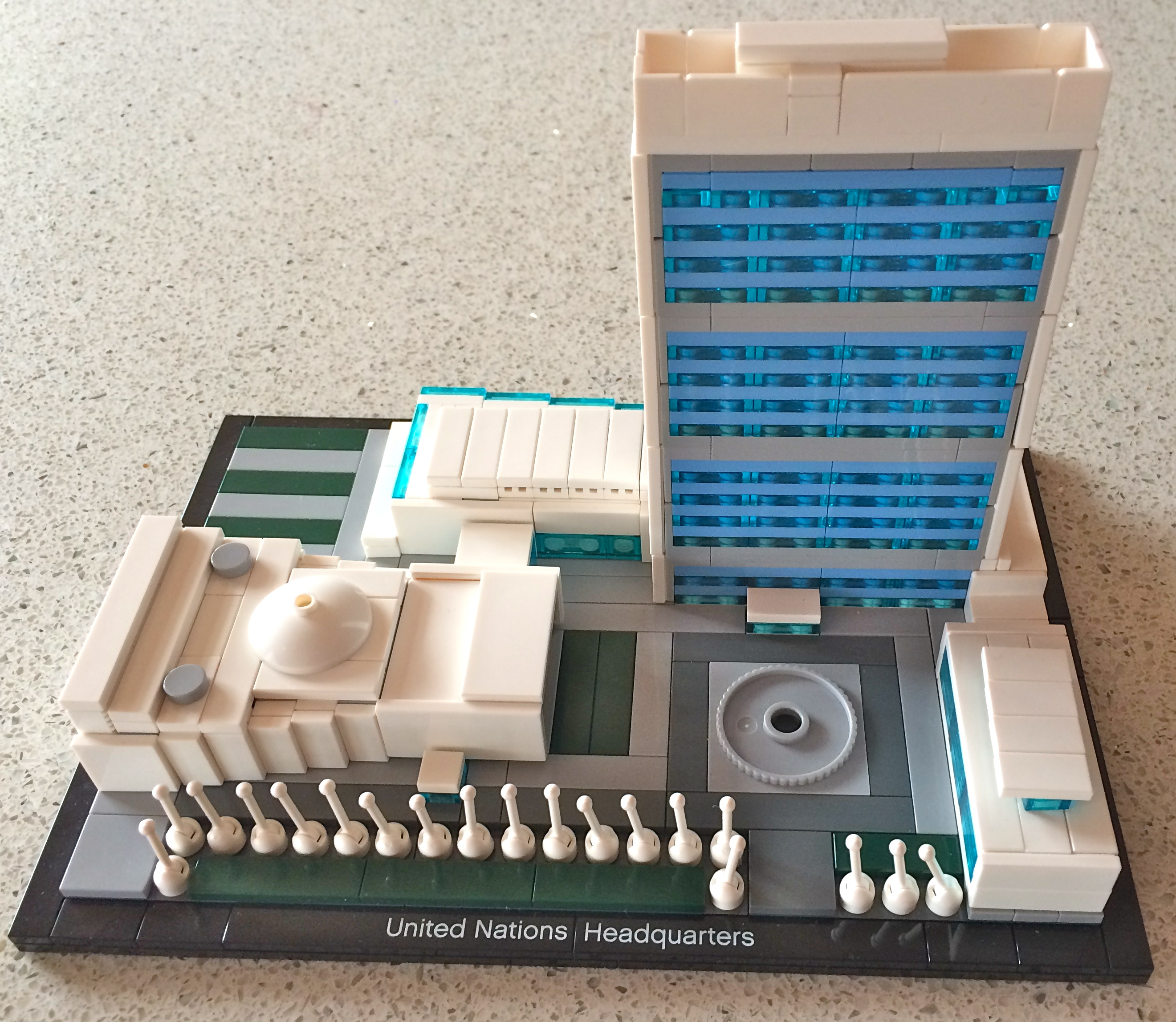 Lego Architecture United Nations Building