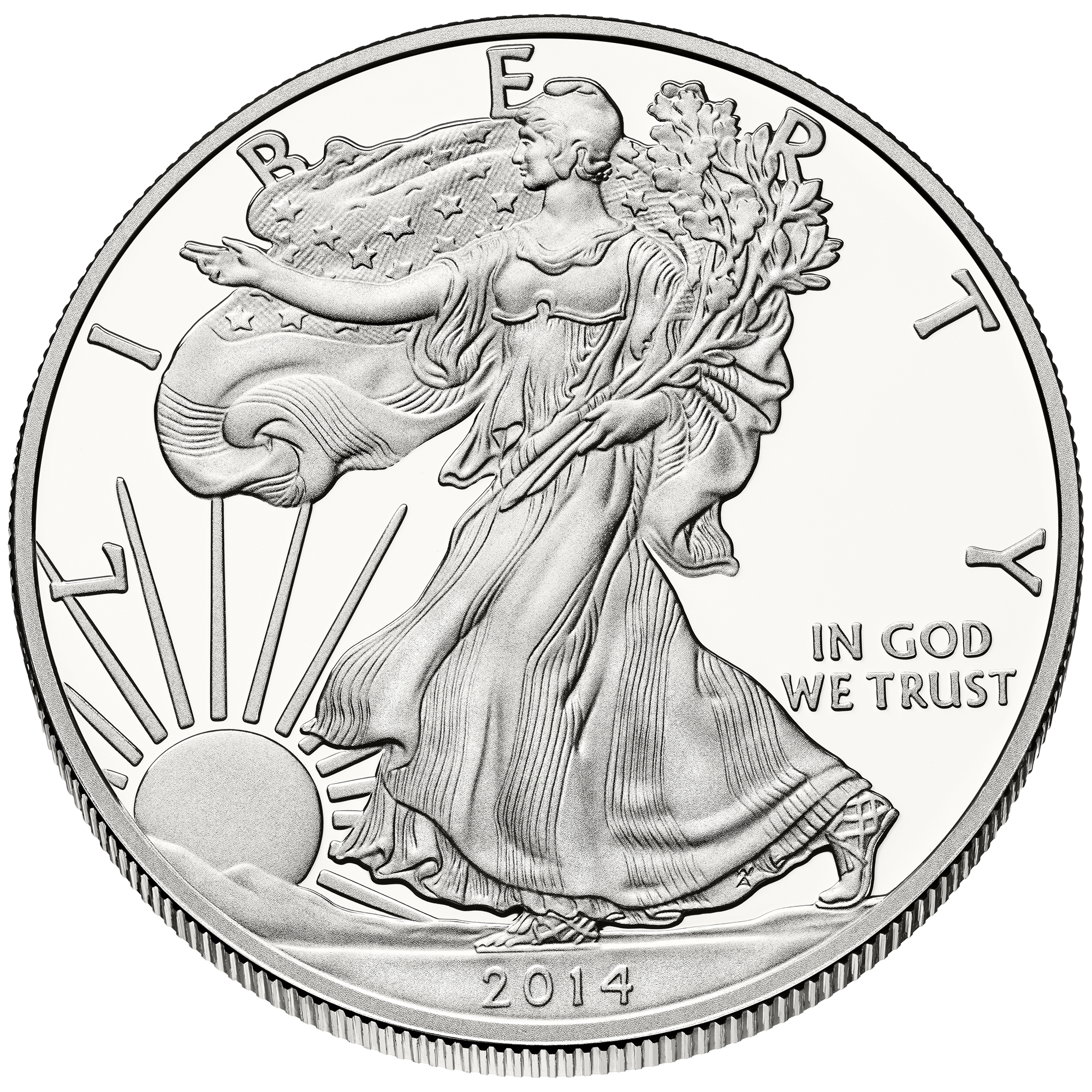 2013-1 oz American Silver Eagle Coin One Troy oz .999 Bullion