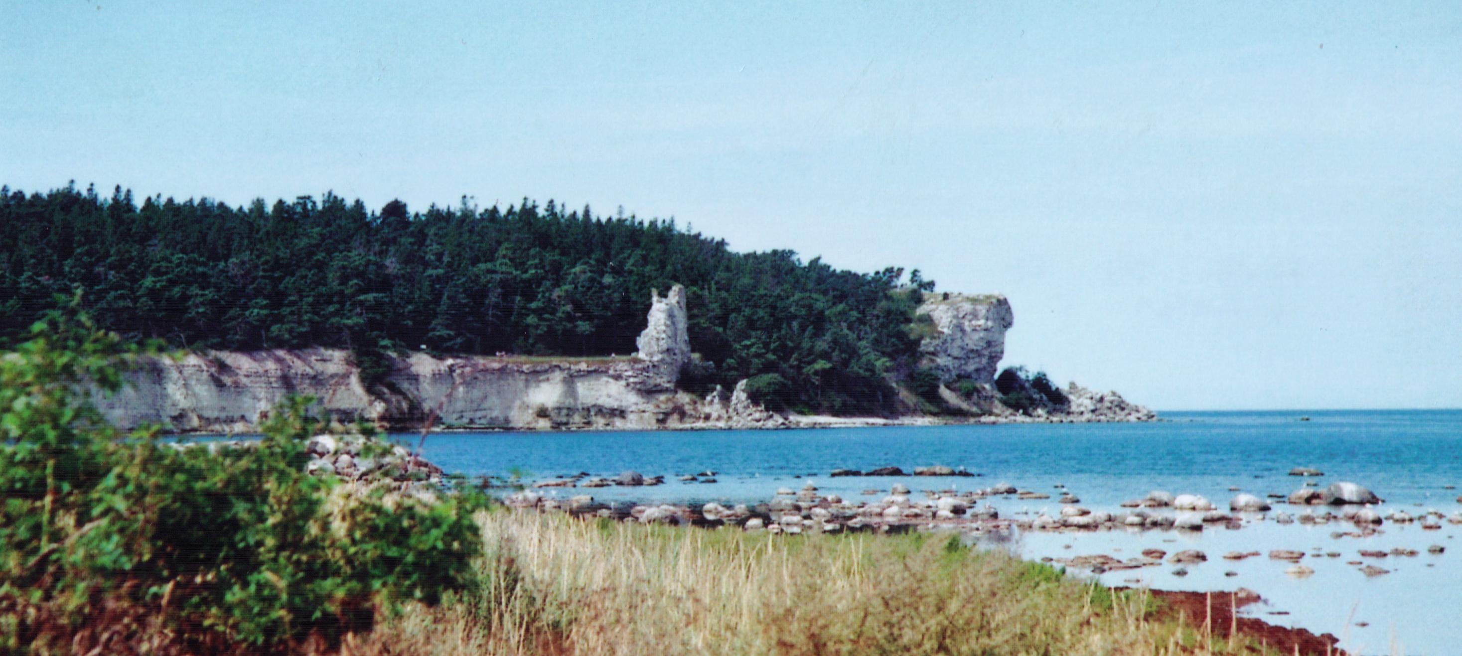 Stenhus i Stenkyrka, nordvstra kusten - Maisons louer
