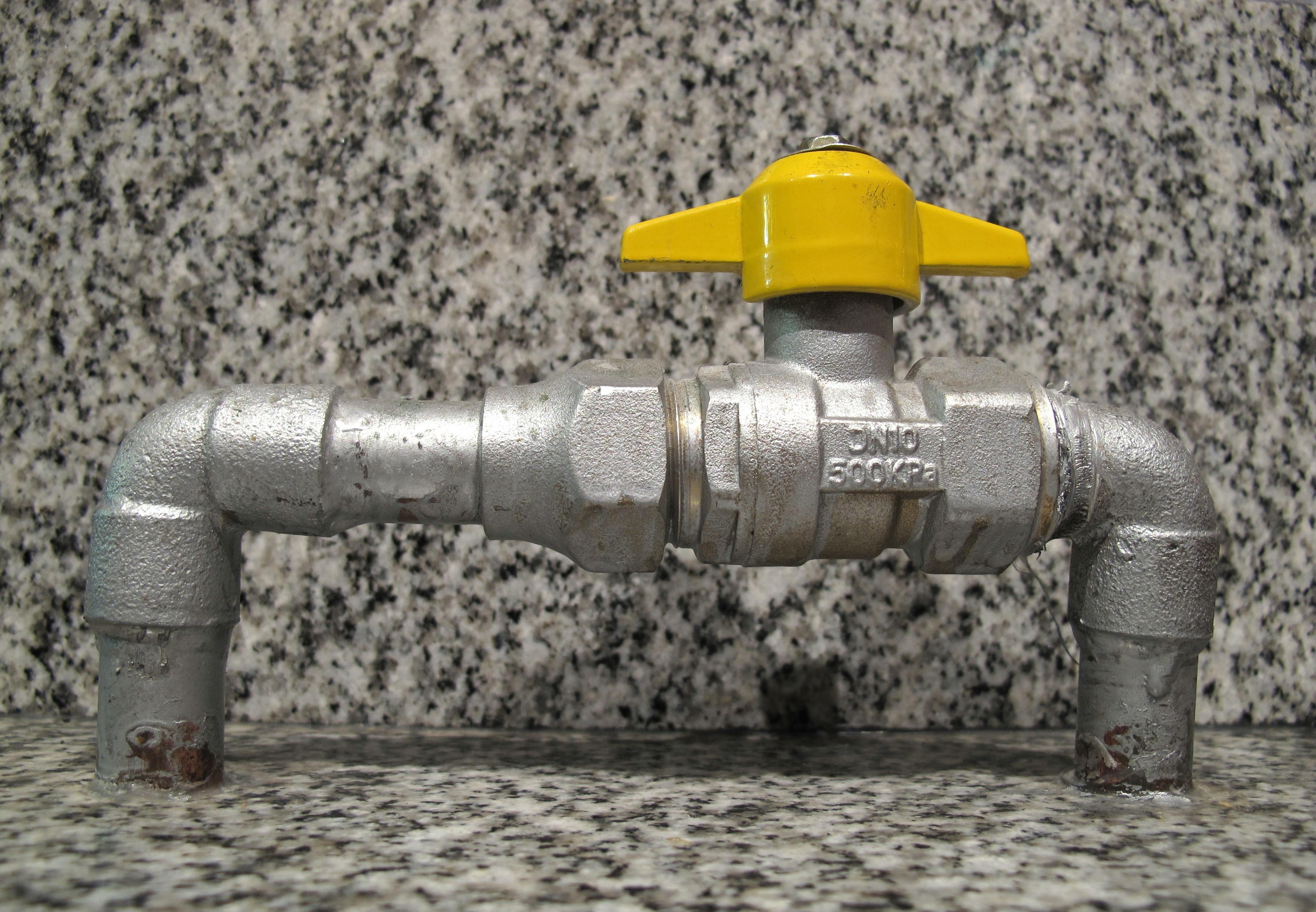 llave de paso general para gas