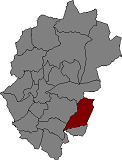 Location of Pradell de la Teixeta