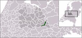 Amerongen Place in Utrecht, Netherlands
