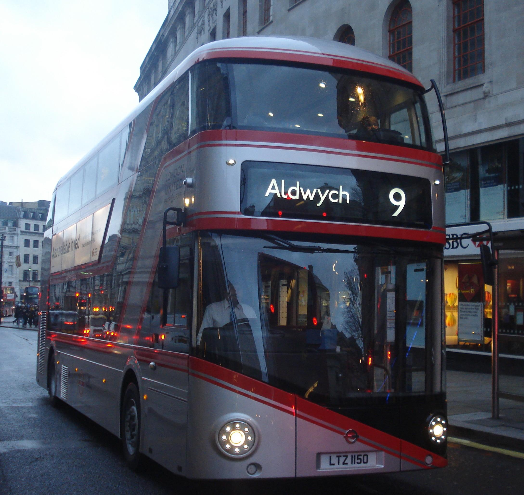 File London United Lt150 On Route 9 Charing Cross Jpg