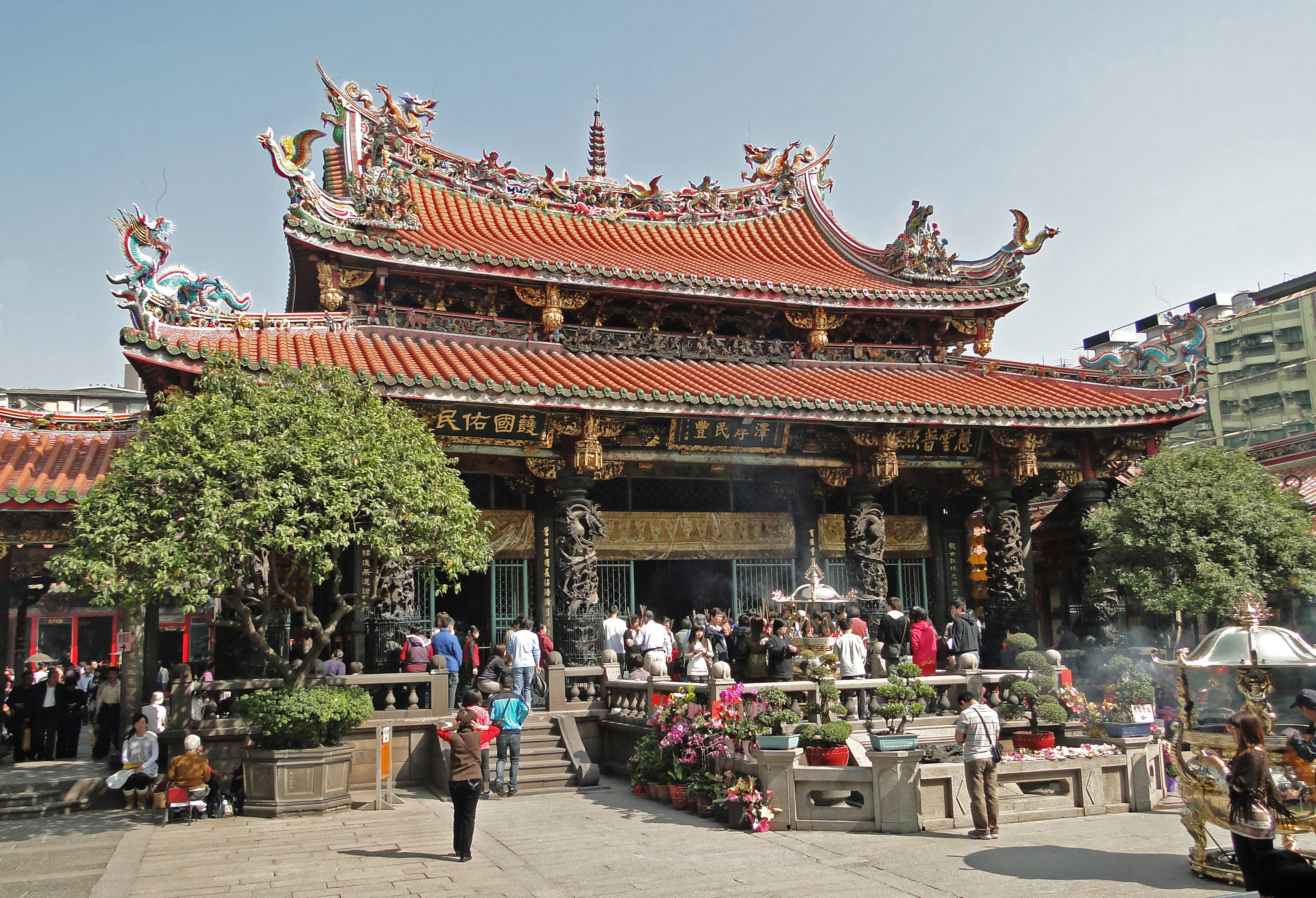 Image result for longshan temple
