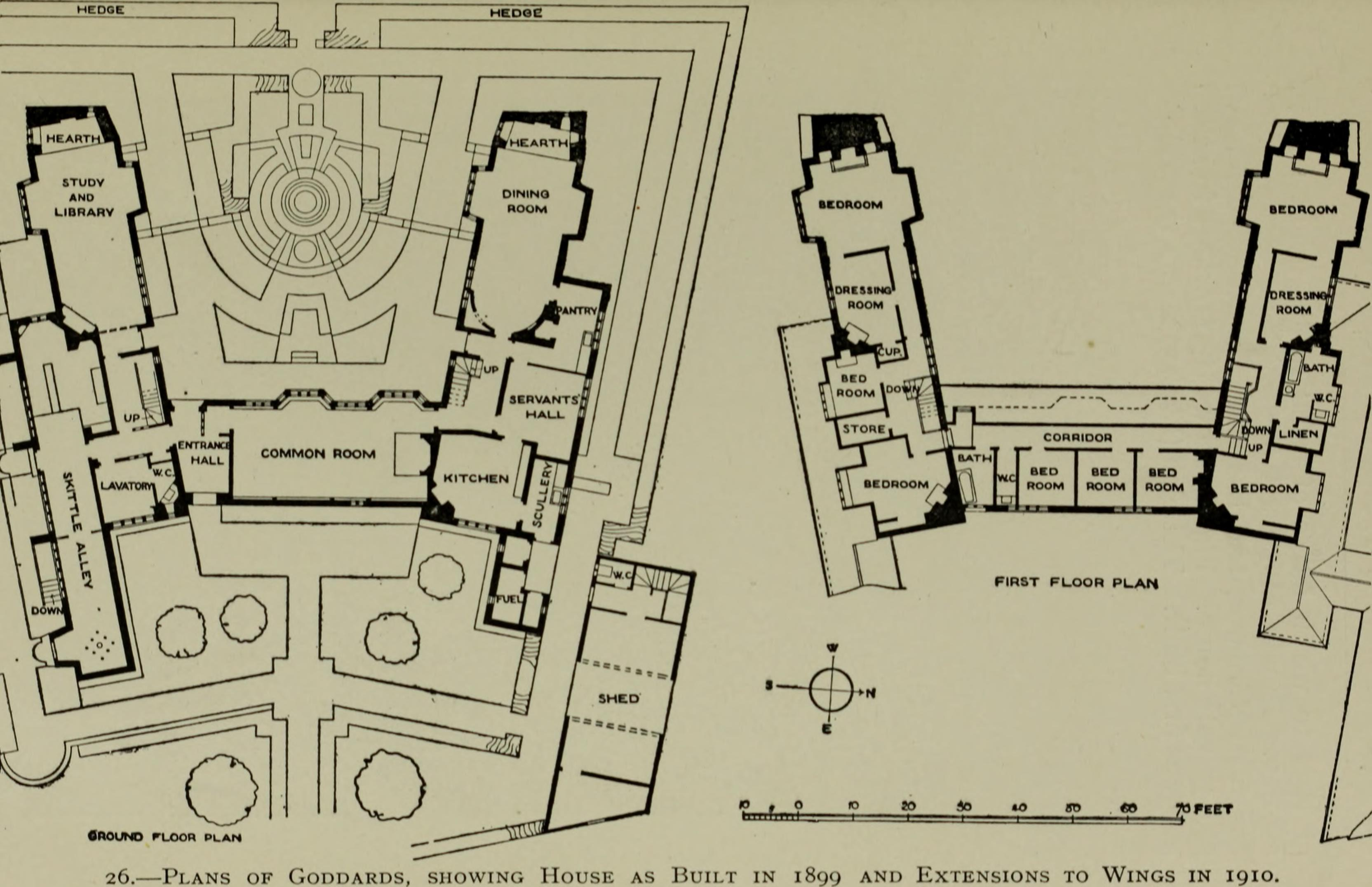 Filelutyens Houses And Gardens 1921 14760686421 Wikimedia Garden Schematic