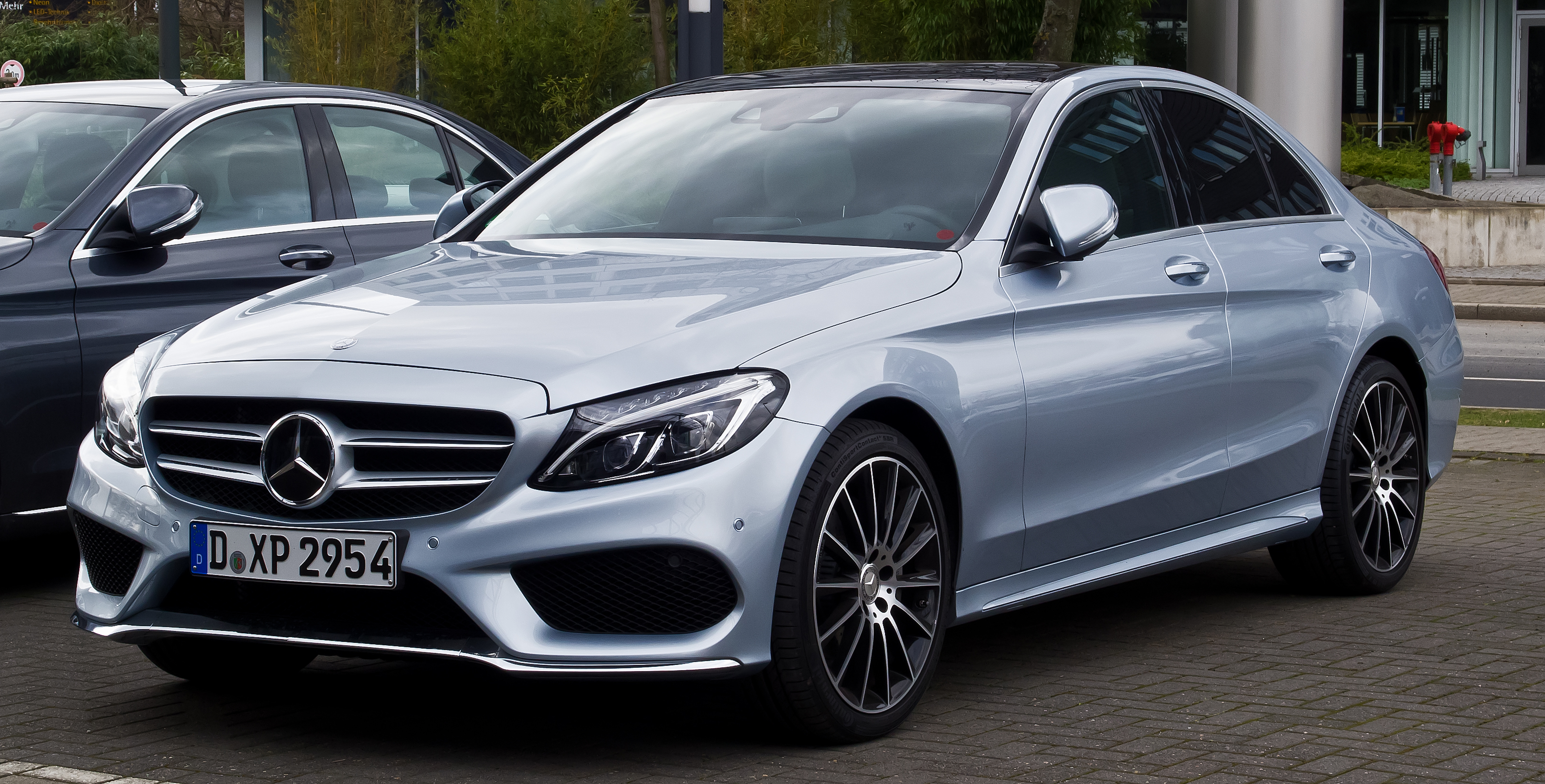 File:Mercedes-Benz C 220 BlueTEC AMG Line (W 205 ...