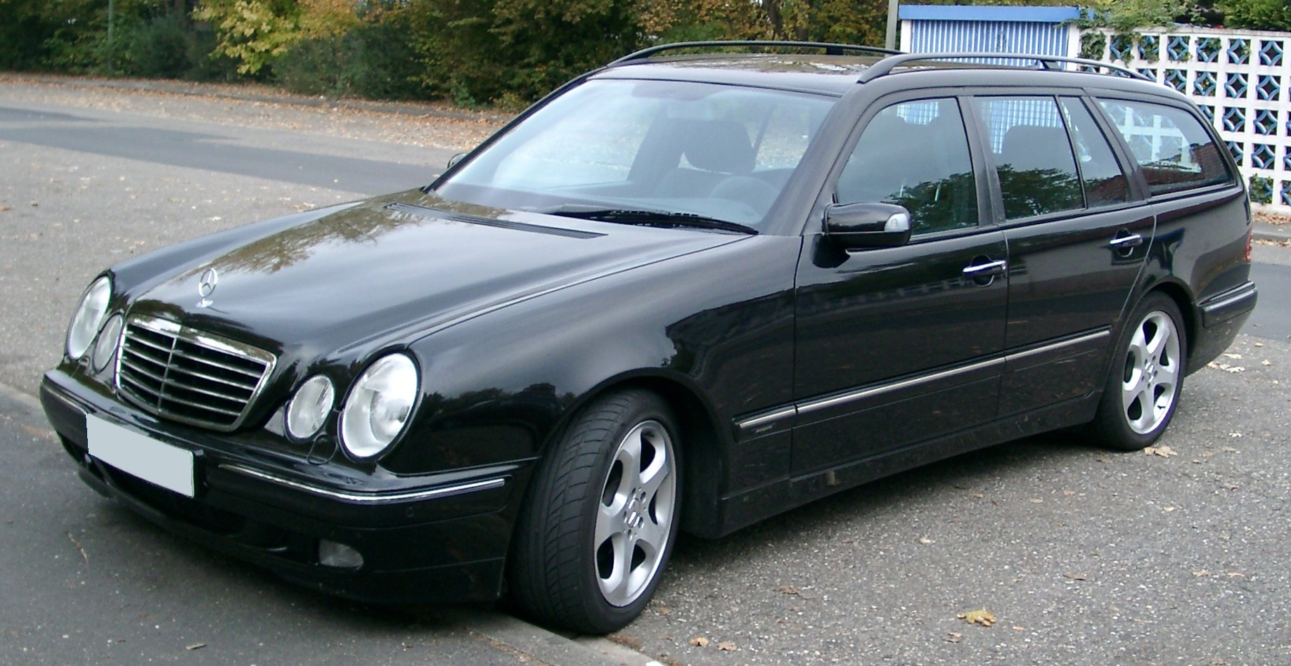 Файл Mercedes S210 Front 20071025 Jpg Вікіпедія