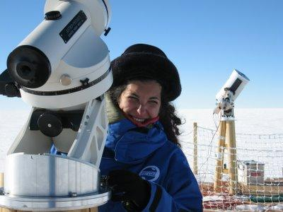 Merieme Chadid led an international scientific program to install a major astronomical observatory in Antarctica. Merieme Chadid.jpg