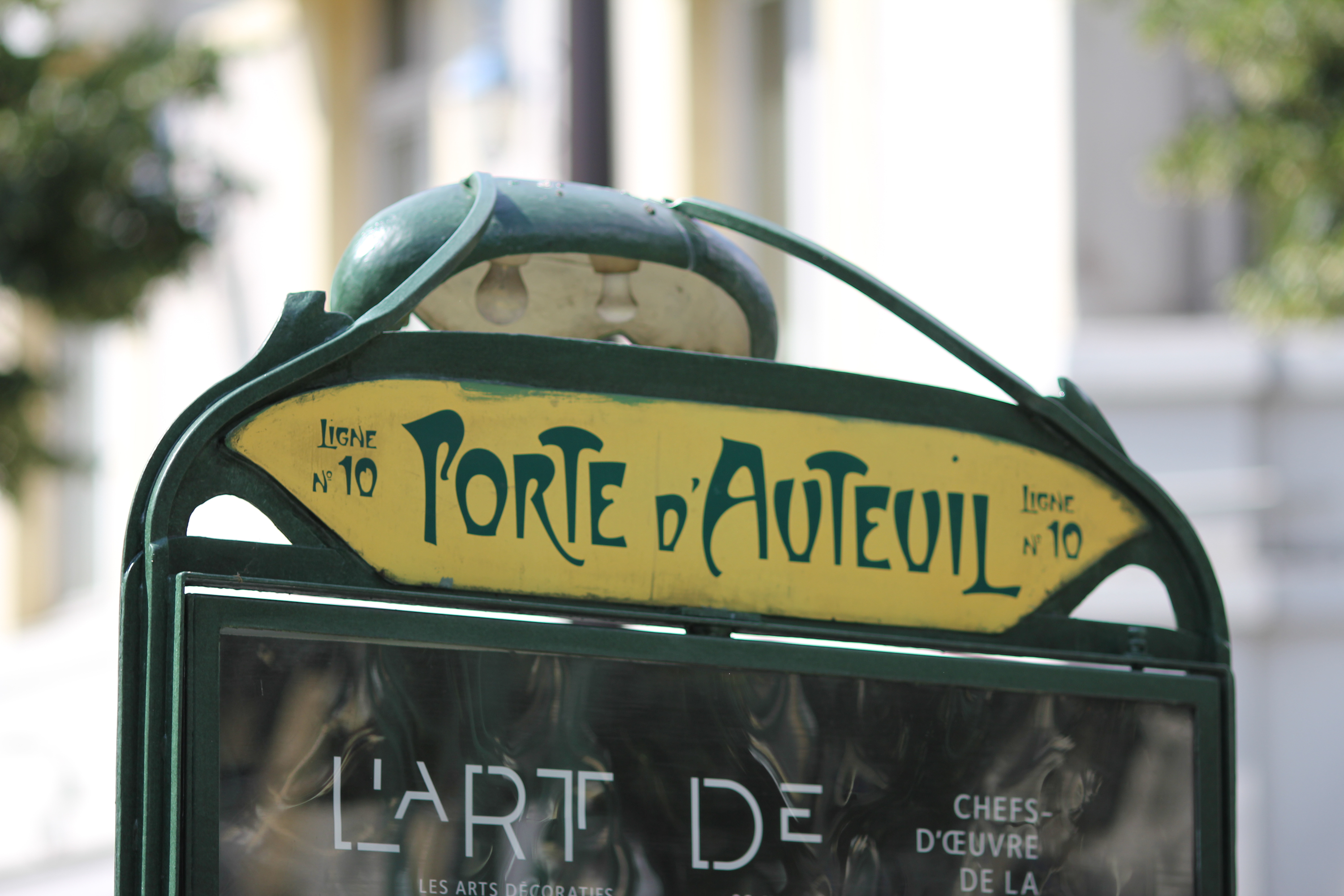 Image result for Porte d'Auteuil, sign, photos