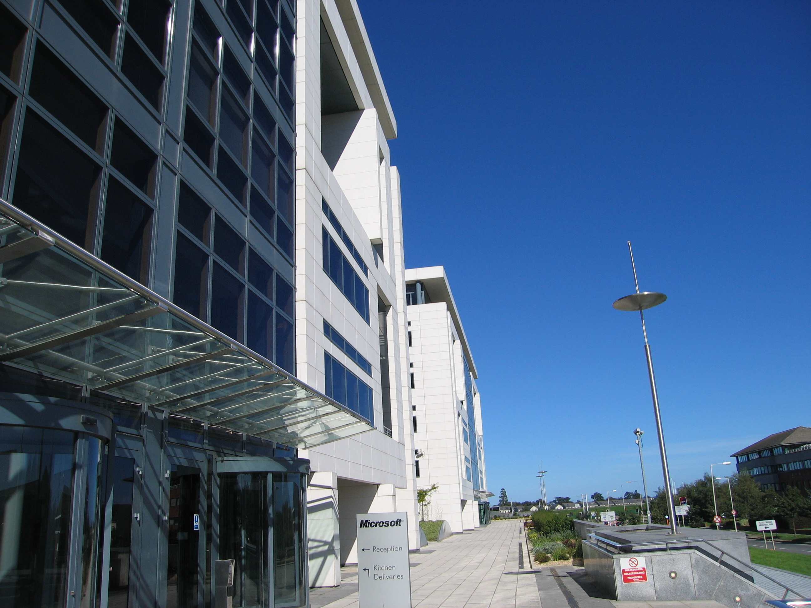 File microsoft ireland atrium building sandyford for Building an estate
