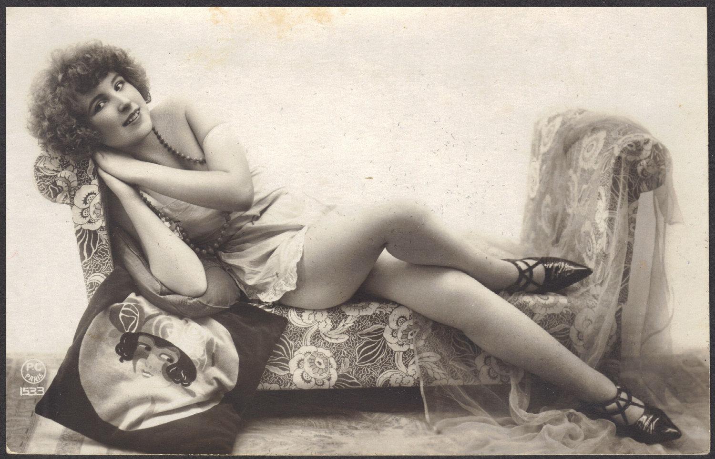 Ретро эротика обнаженных женщин  56296