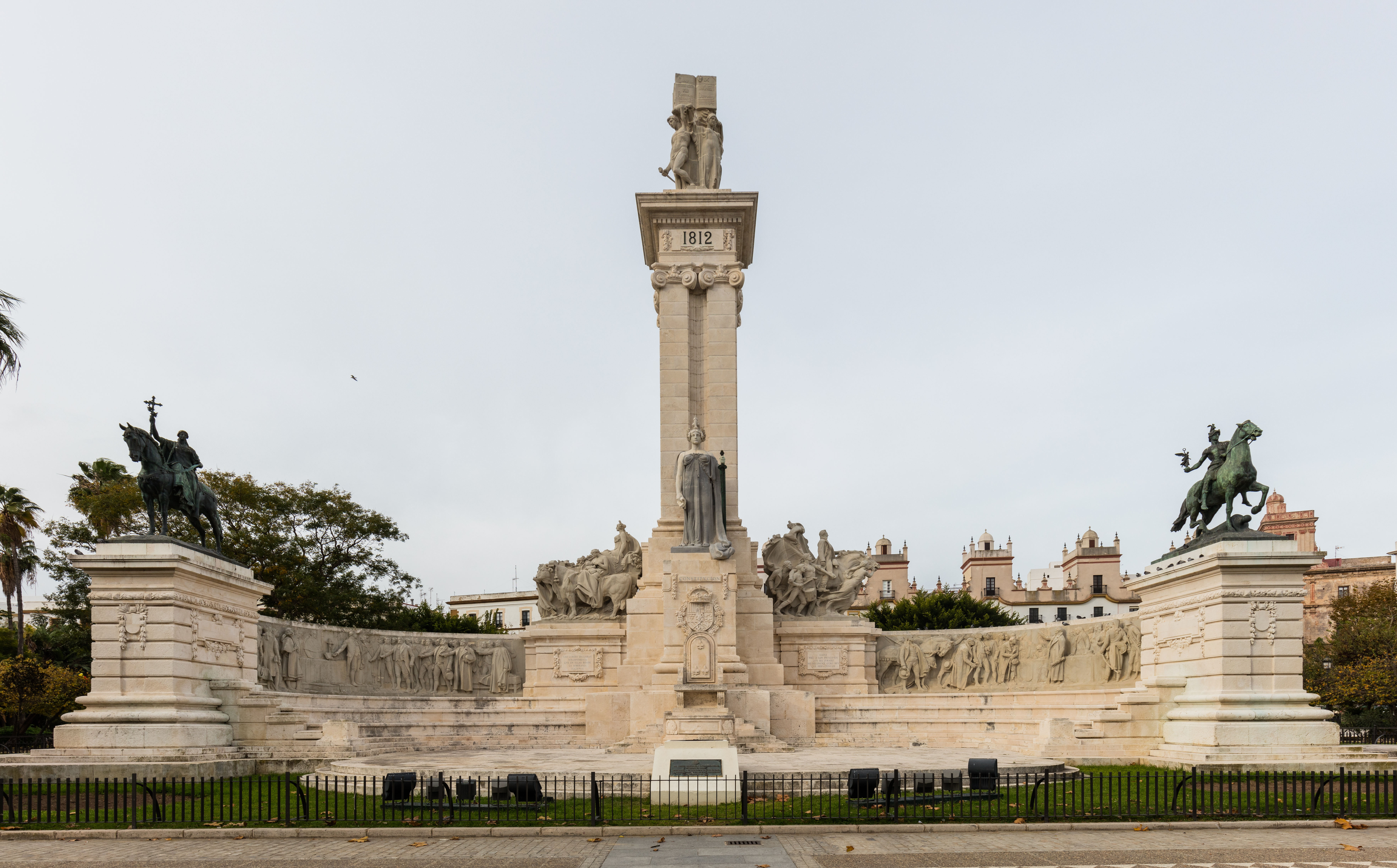 Monumento A La Constitucion De 1812 Wikipedia La Enciclopedia Libre