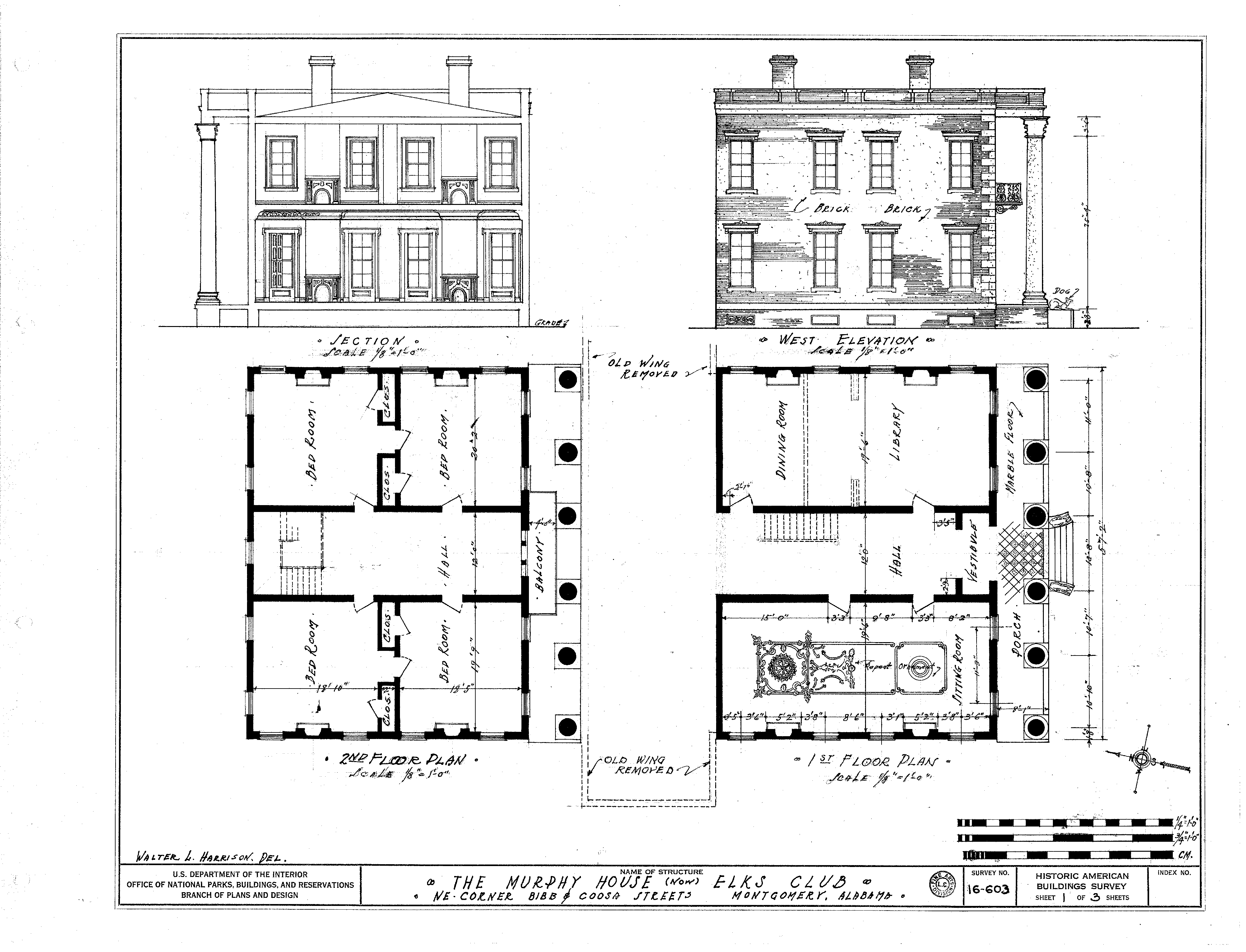 file murphy house interior plan png wikimedia commons