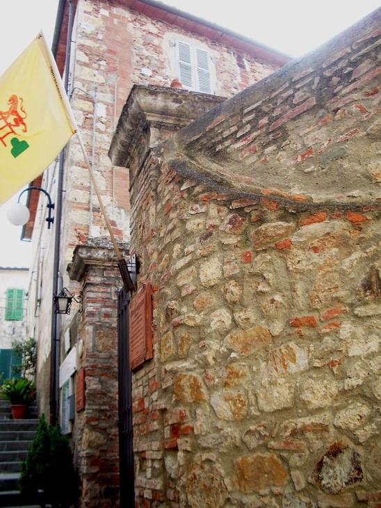 Il palazzo del Museo di Storia Locale di Montepescali
