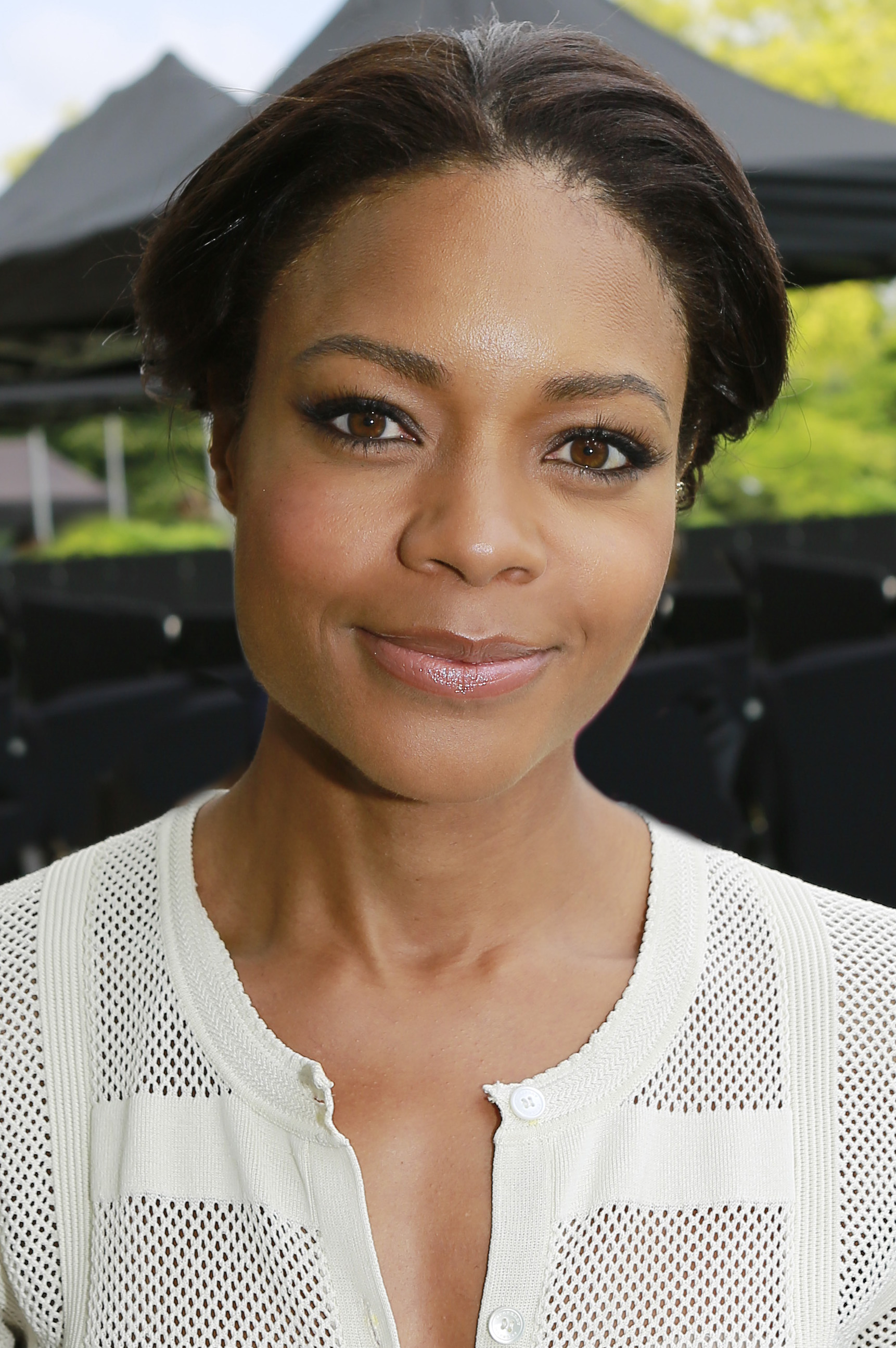 Den 42-år gammal, 173 cm lång Naomie Harris in 2018 photo