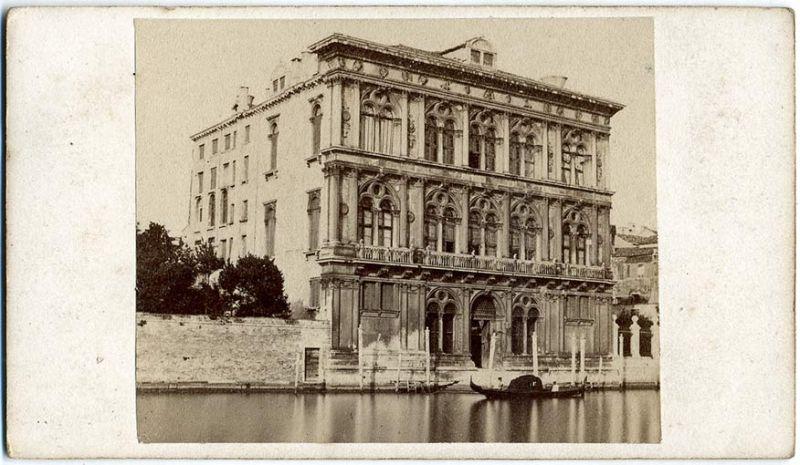Naya, Carlo (1816-1882) - Venezia - Palazzo Vendramin 1870s 1
