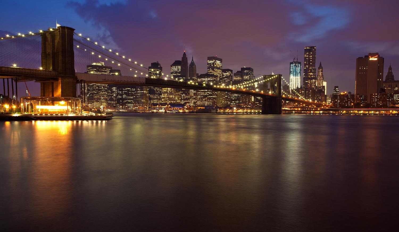 Manhattan Bridge Leads To Staten Island