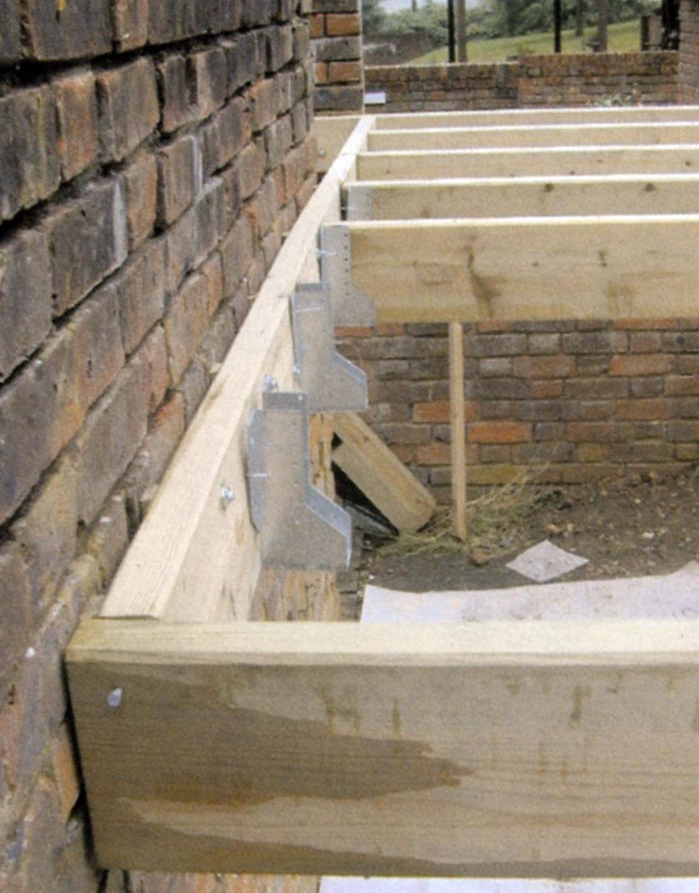 Plank Plat Tegen Muur Bevestigen.Balklaag Wikipedia