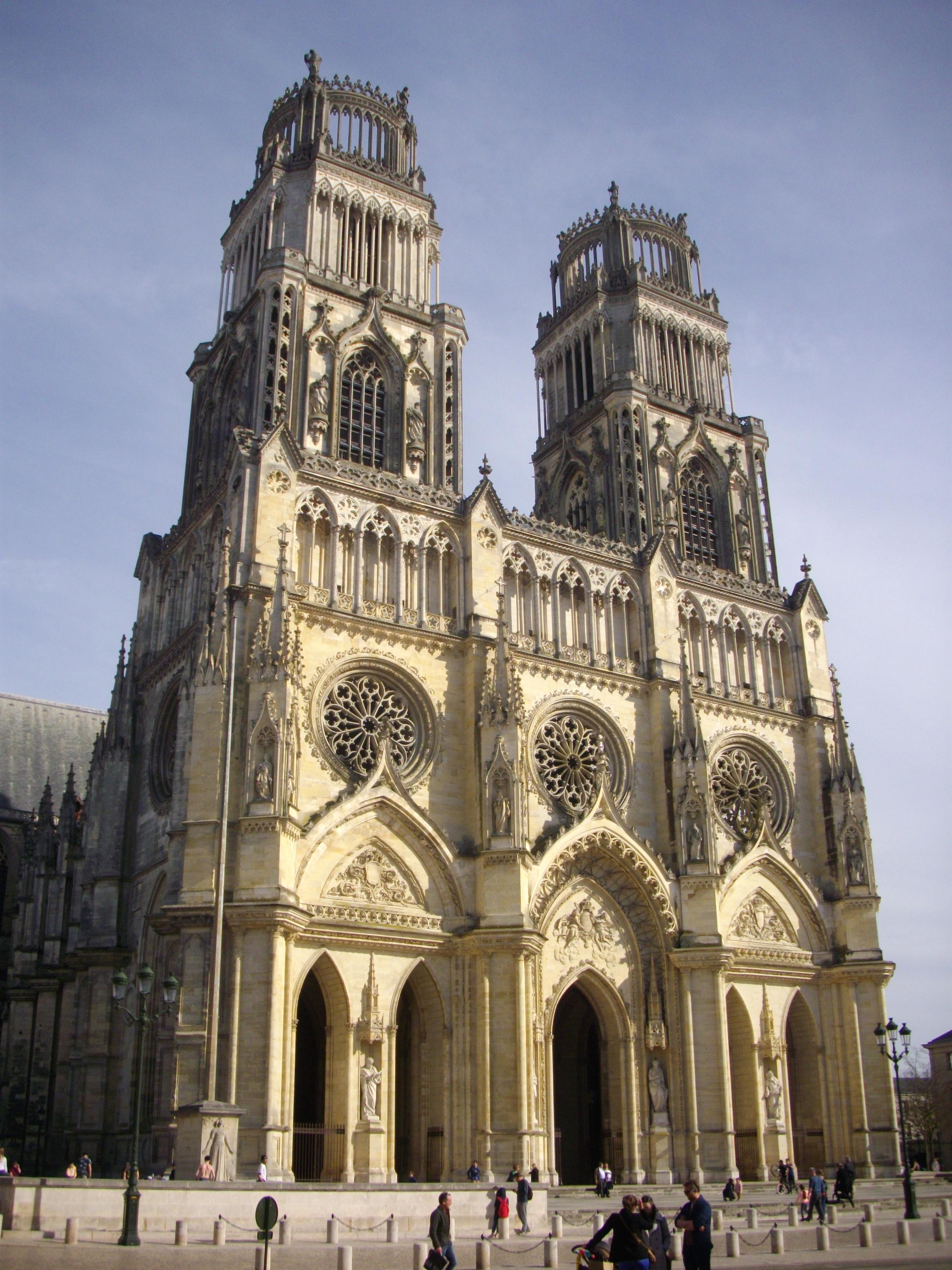 Maître D Oeuvre Orléans cathédrale sainte-croix d'orléans — wikipédia