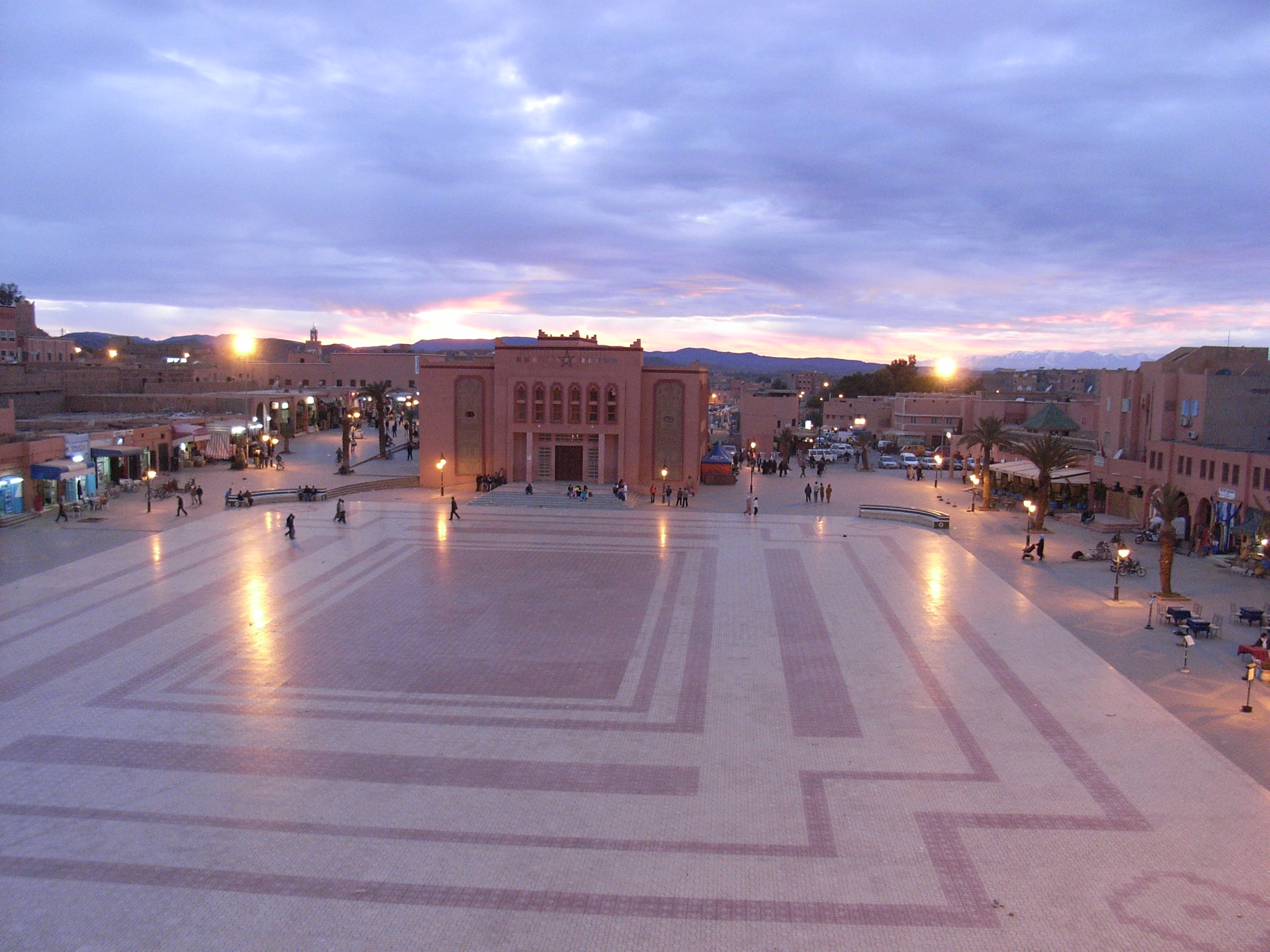 Ouarzazate Grand Place