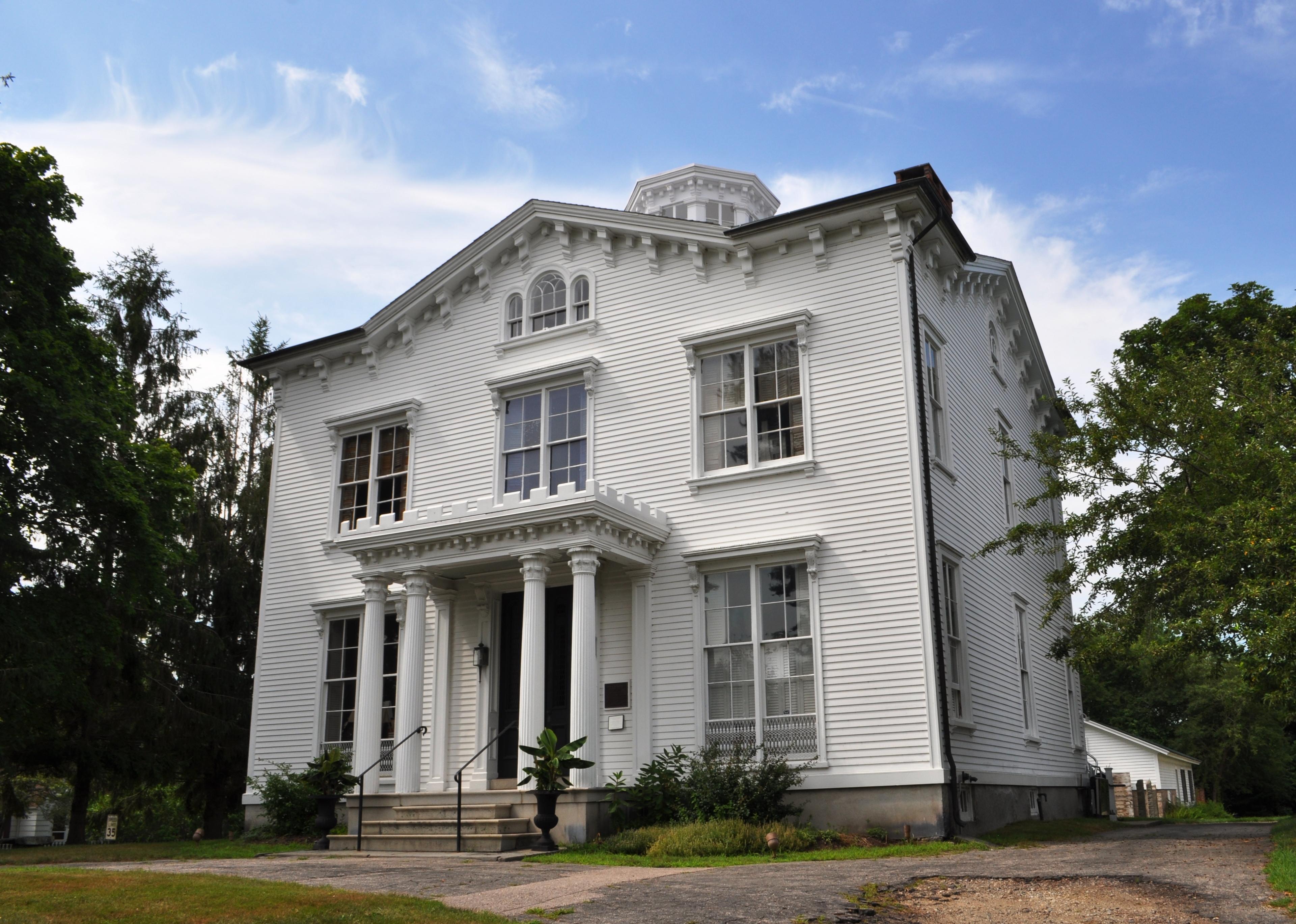 Capt Nathaniel B Palmer House Wikiwand