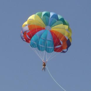 Parasailing At Candolim Beach