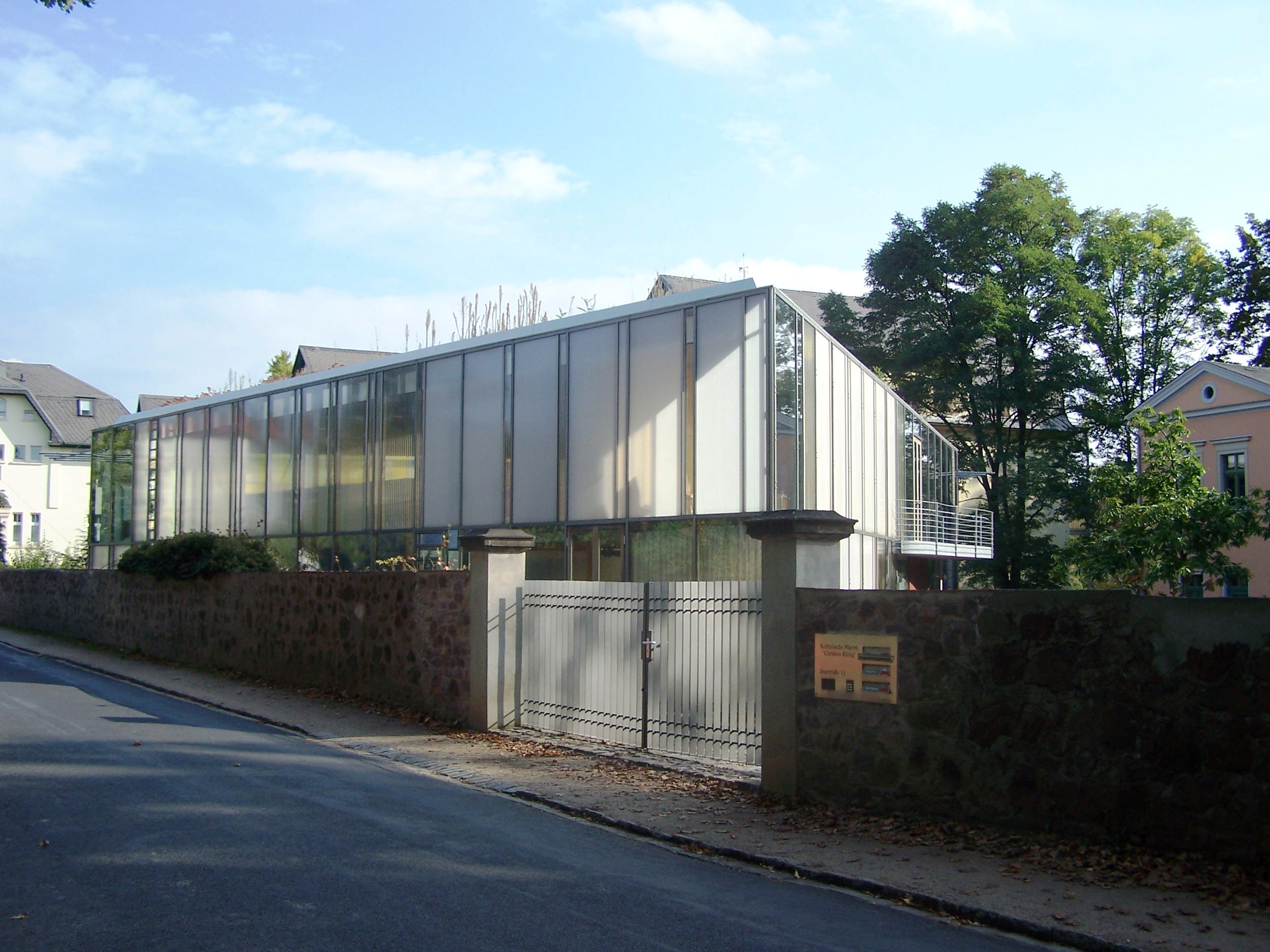 Architekt Radebeul file radebeul christkönig jpg wikimedia commons