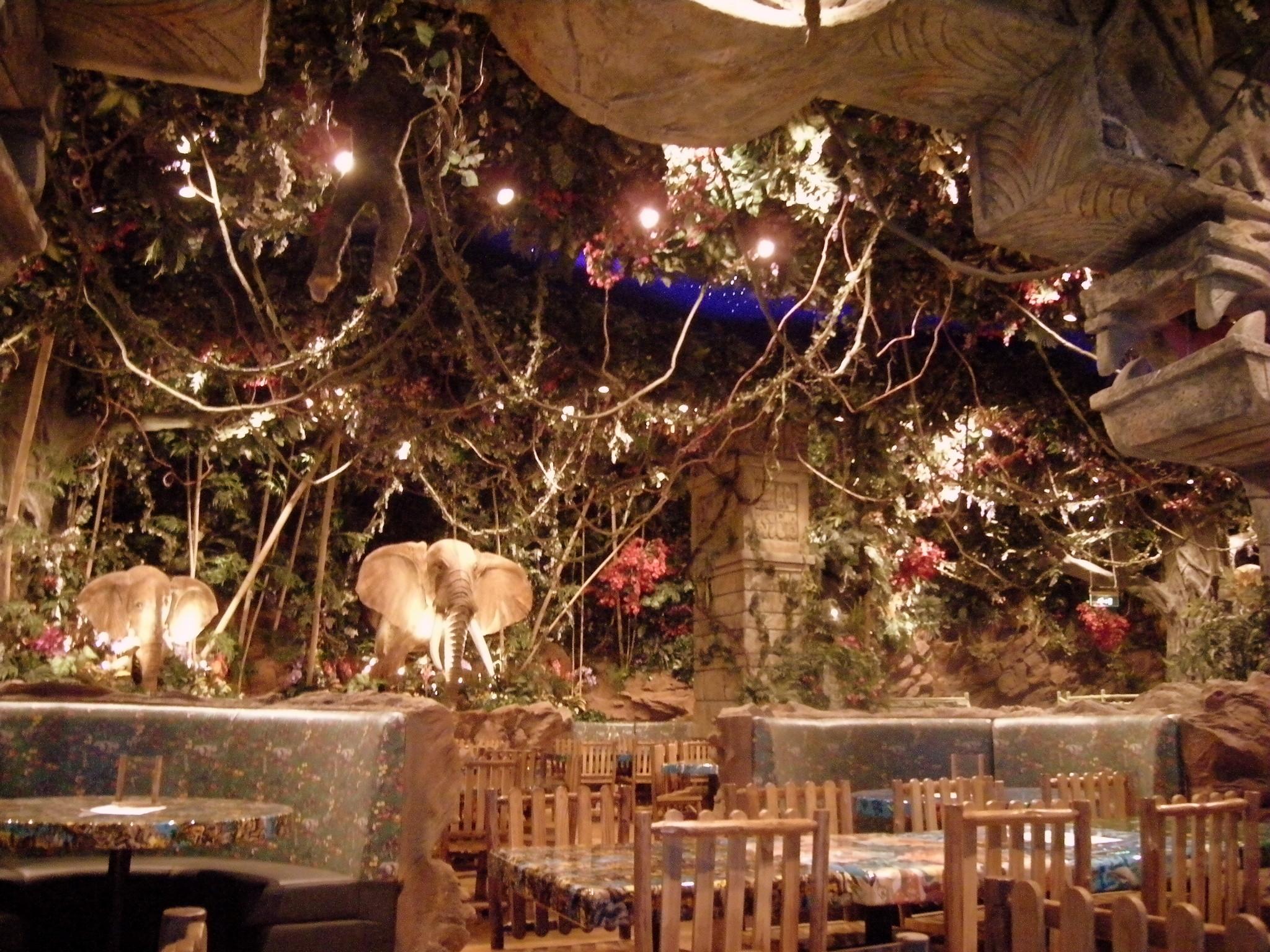 Rainforest Cafe Japan Menu