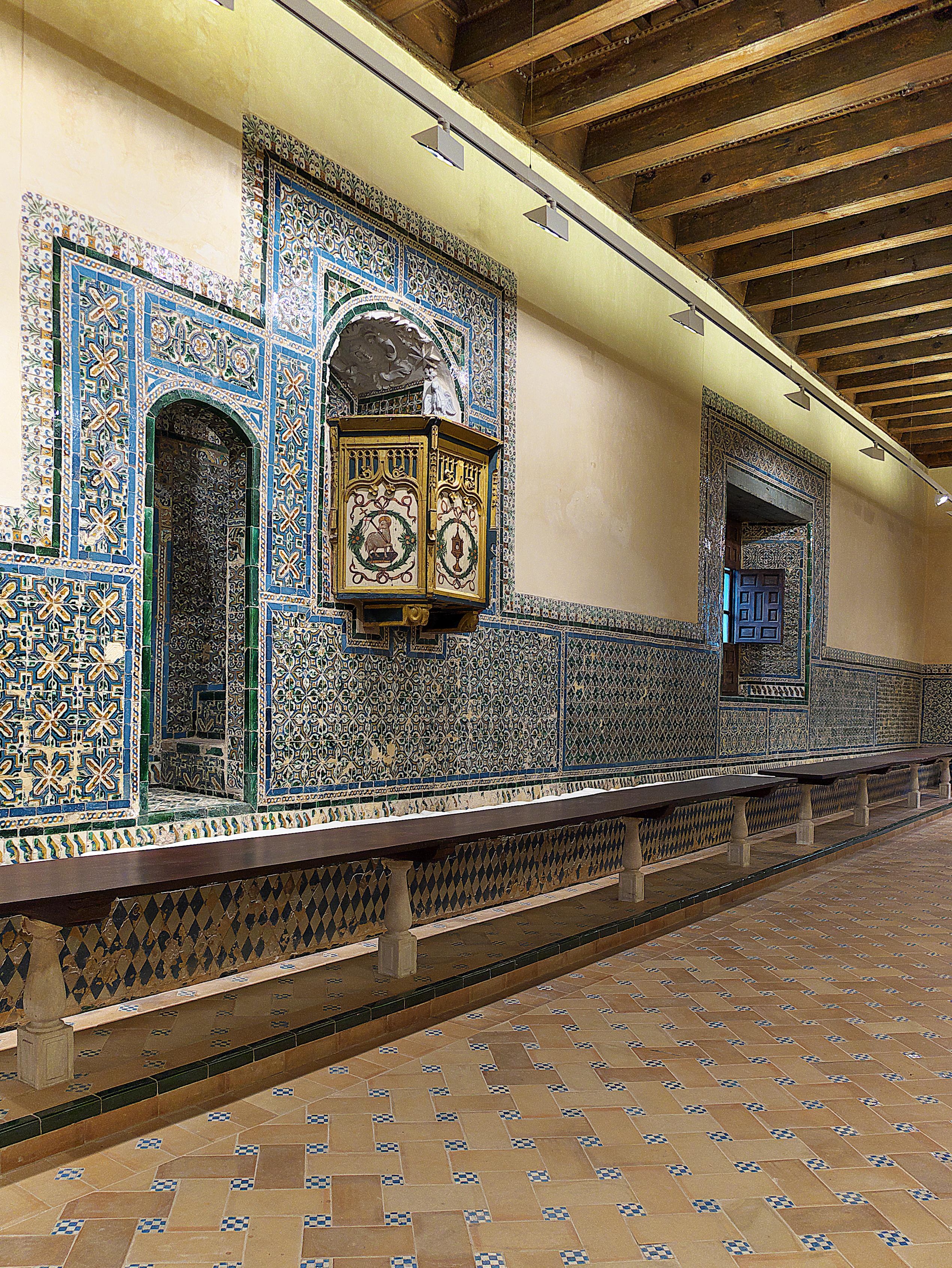 File Refectorio Del Real Monasterio De Santa Clara Sevilla Jpg