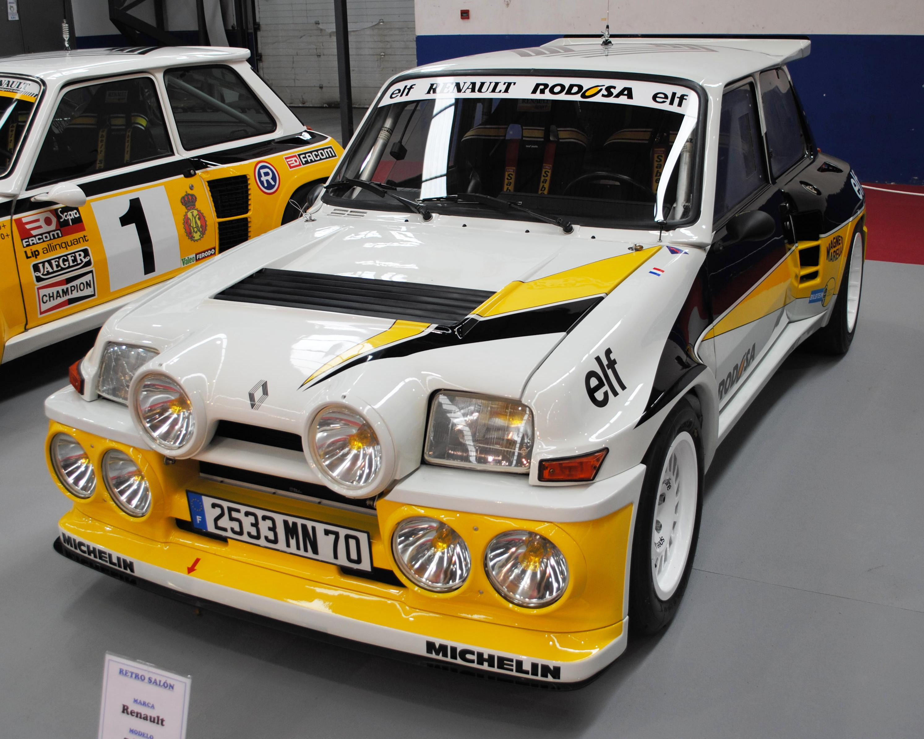 file renault 5 maxi turbo 1984 ifevi 2014 jpg wikimedia commons. Black Bedroom Furniture Sets. Home Design Ideas