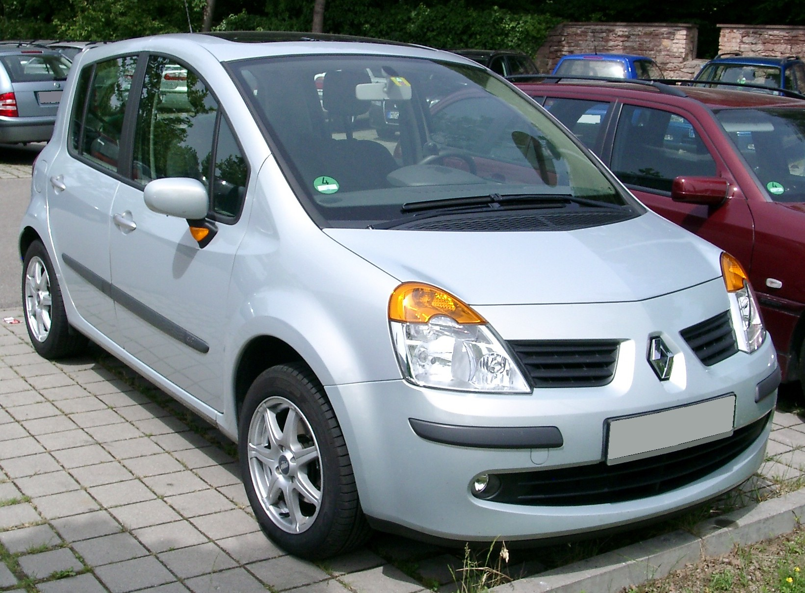 Description renault modus front 20080530