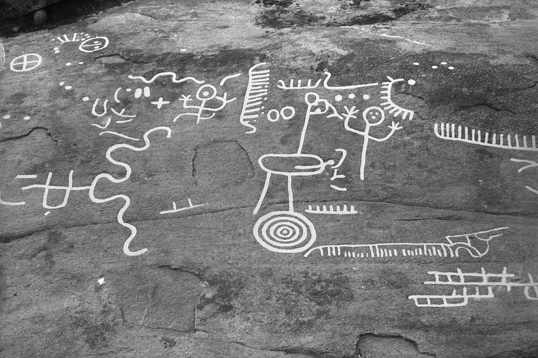 Fil rock carving evenstorp sundals ryr dalsland sweden