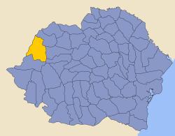 Rumänien 1930 Grafschaft Bihor.png