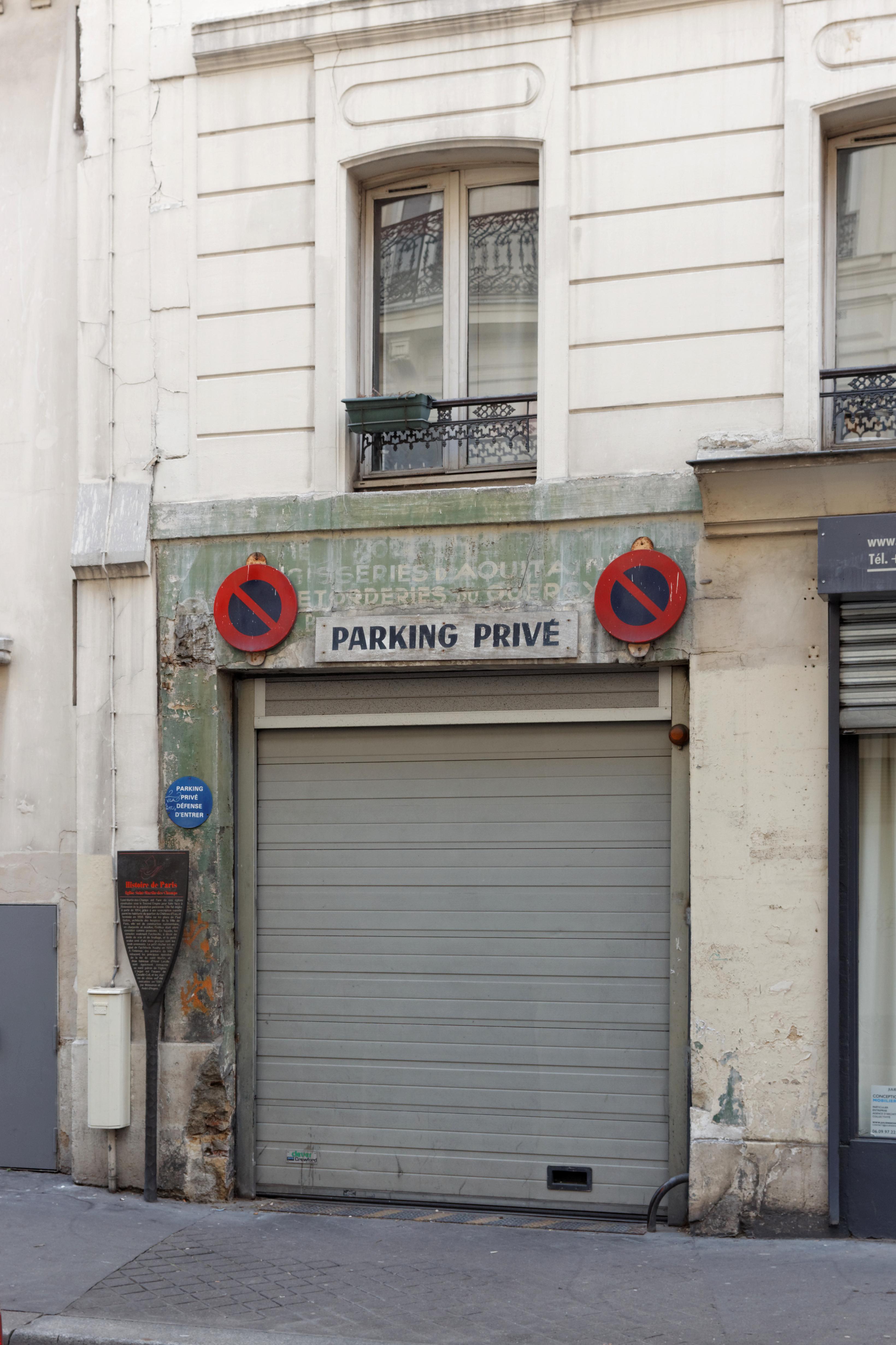 File rue albert thomas paris num ro 34 porte - Porte de garage wikipedia ...