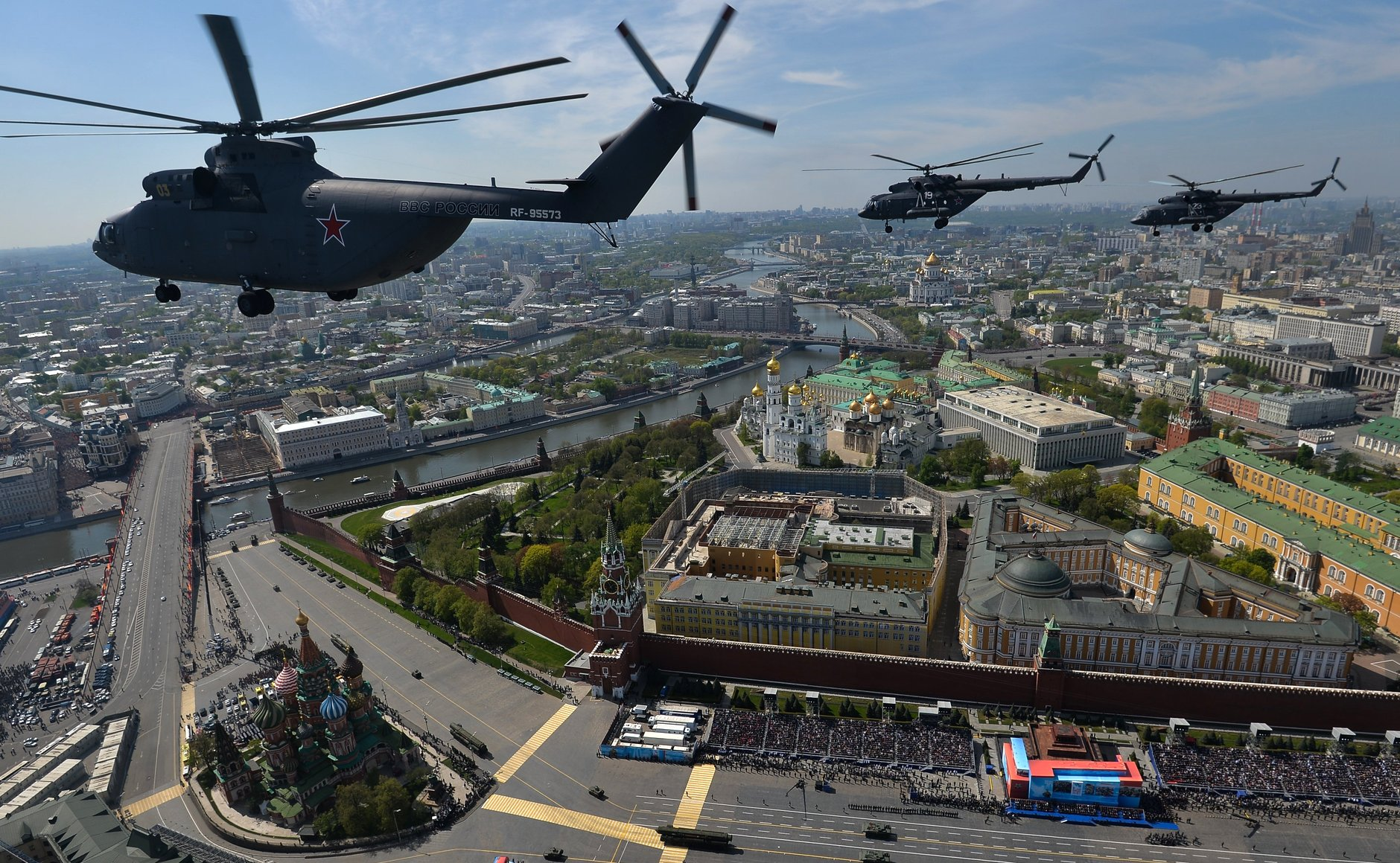 Air Fly Past Columnedit 2015 Moscow Victory
