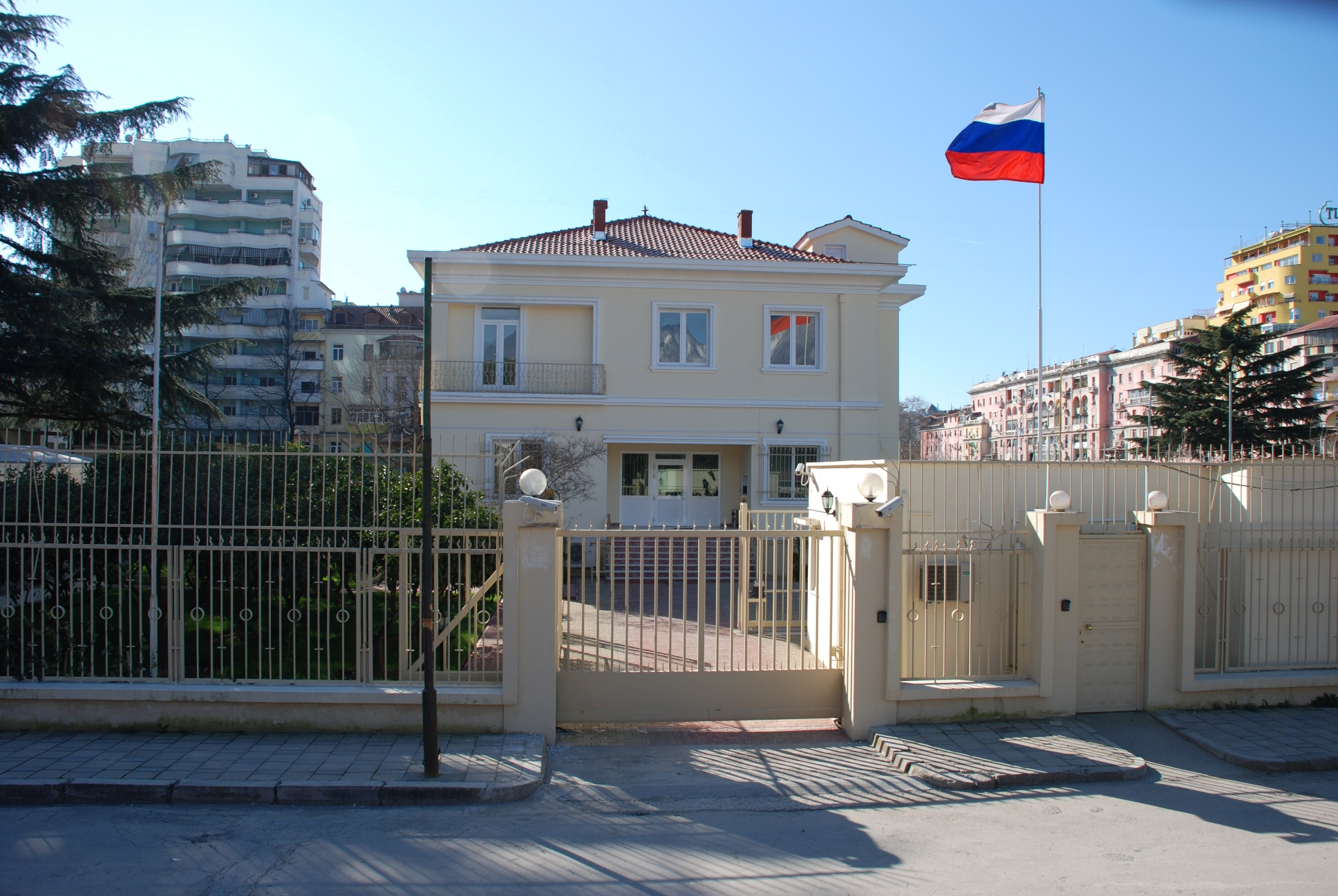 Think, that The embassy of the russian the