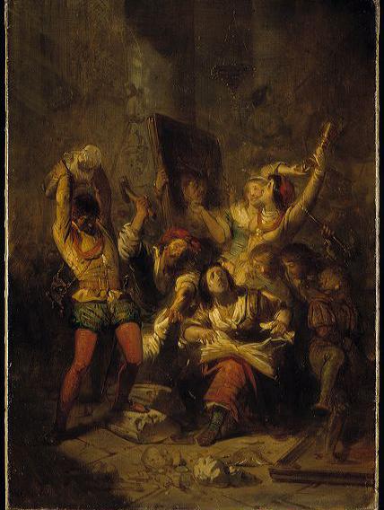 SA 4904-Anno 1566. De beeldenstorm