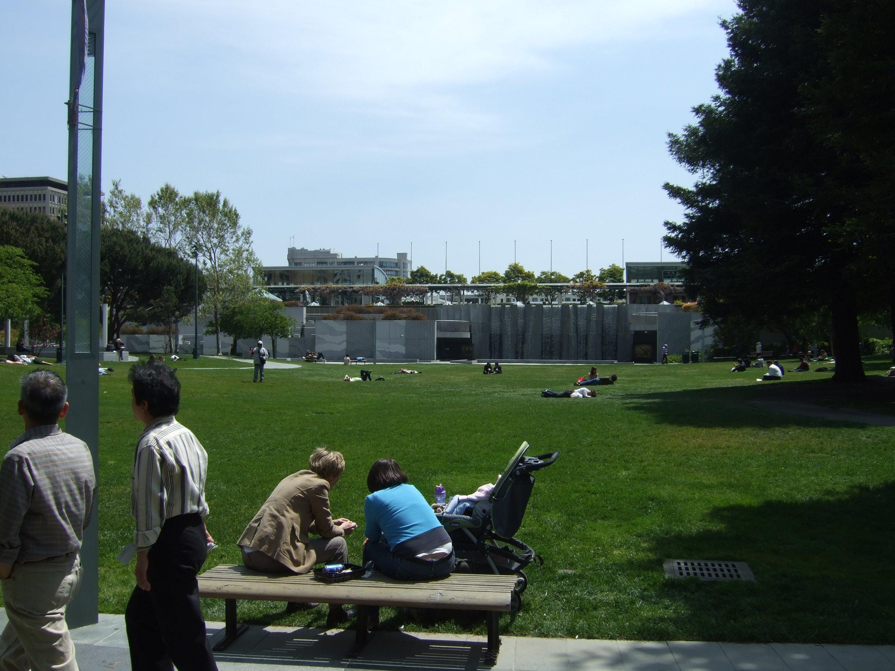 Yerba Buena Gardens History Garden Ftempo