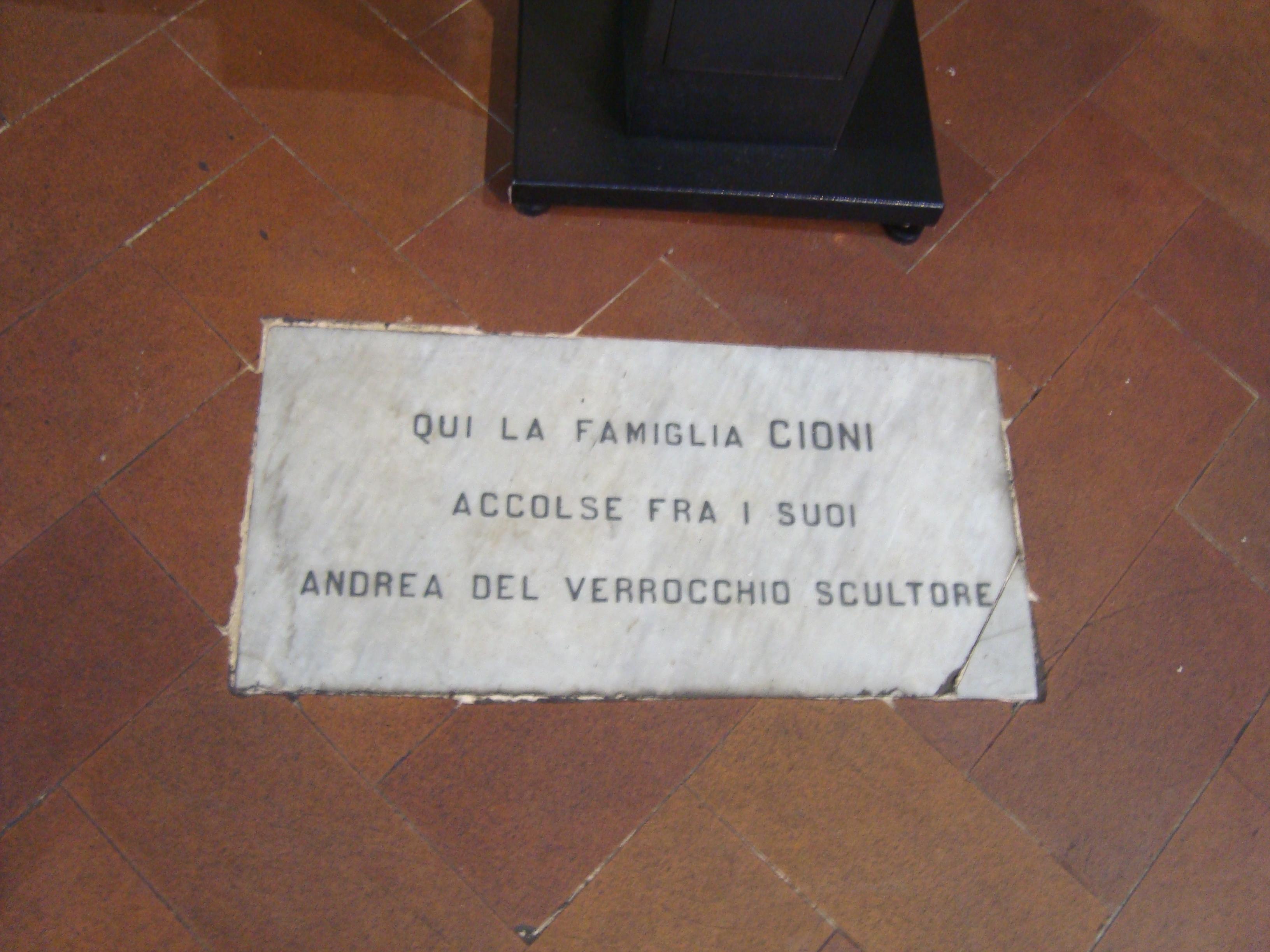 Andrea del verrocchio wikipedia